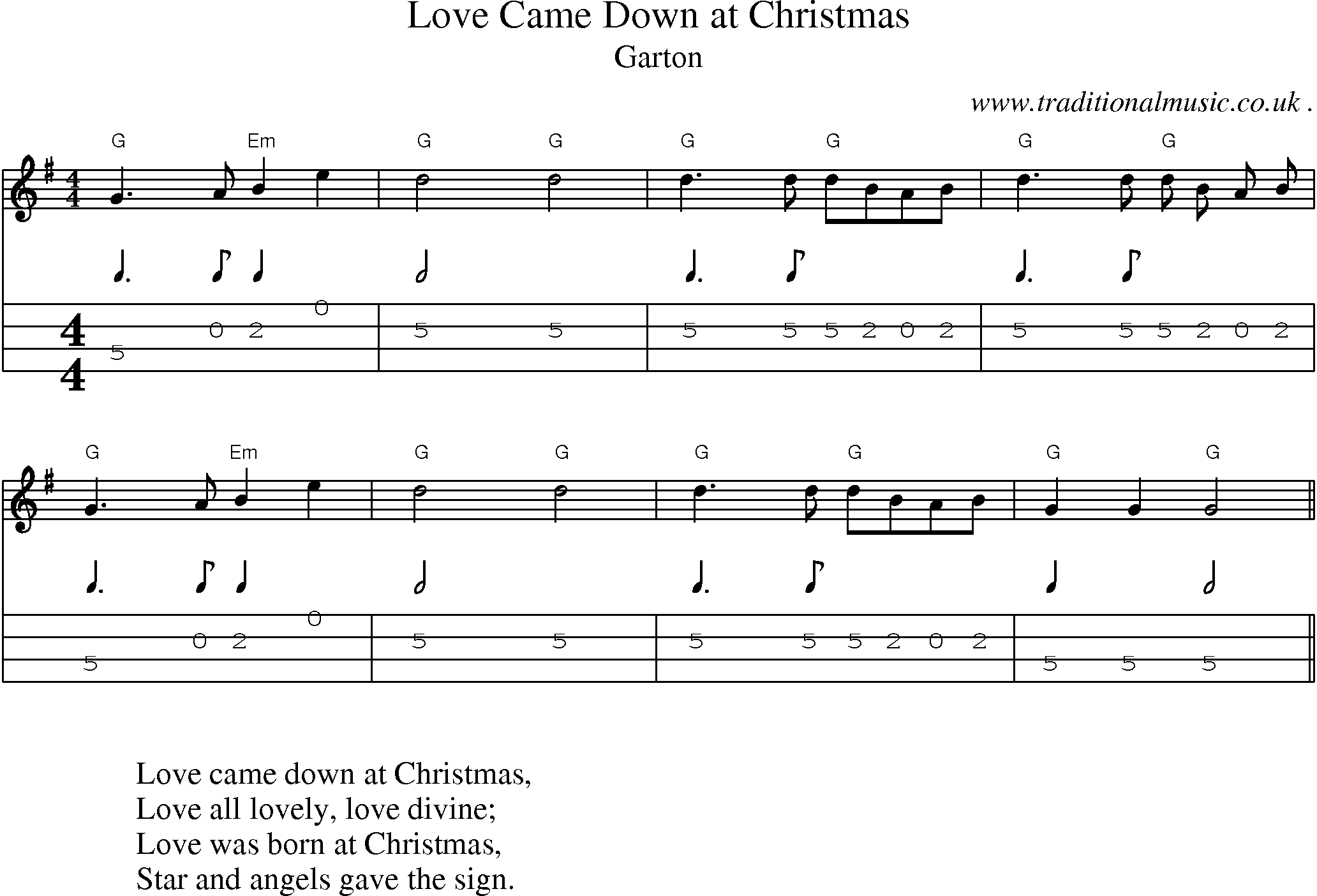 American Old-time music, Scores and Tabs for Mandolin - Love Came ...