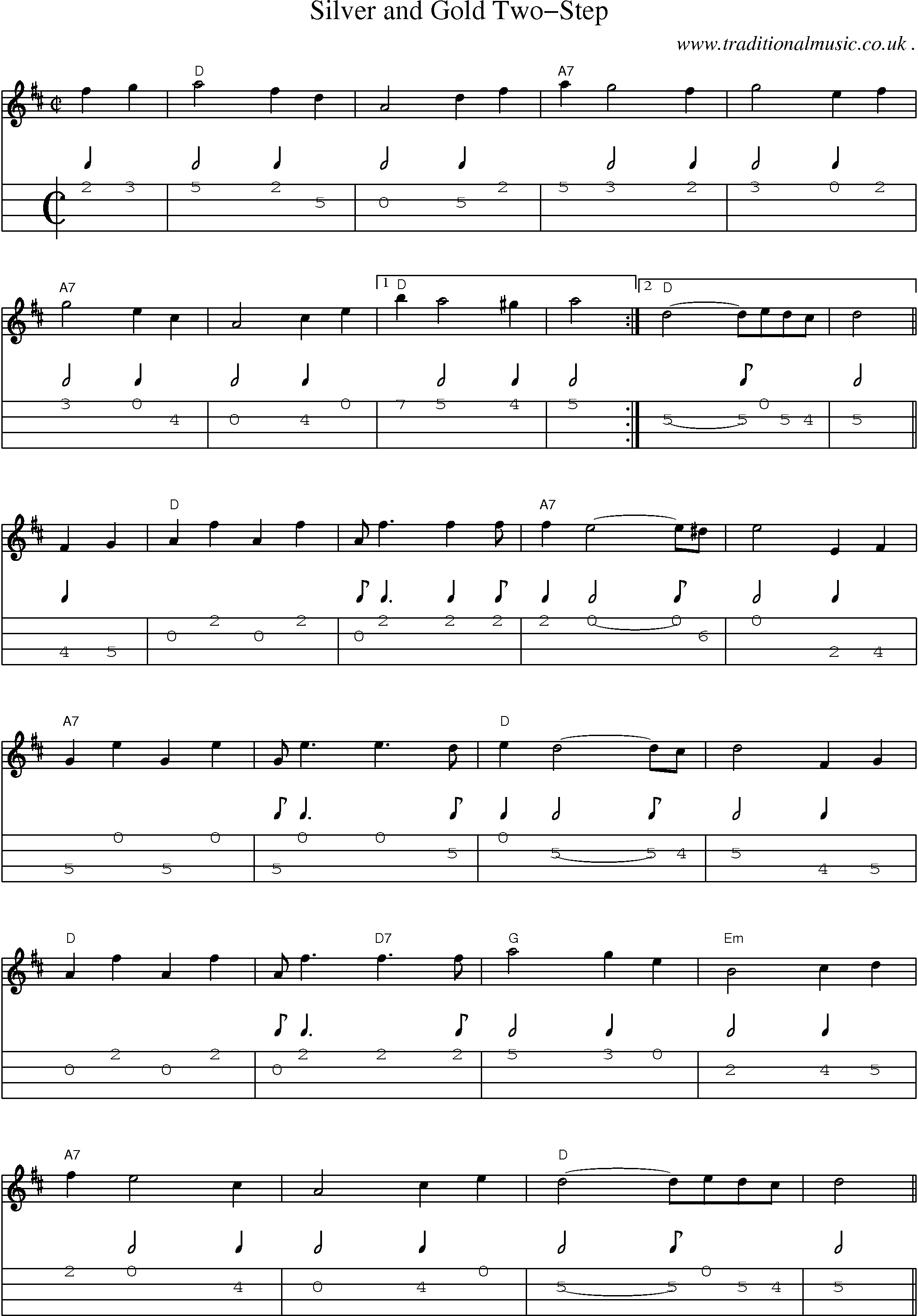 American Old Time Music Scores And Tabs For Mandolin Silver And