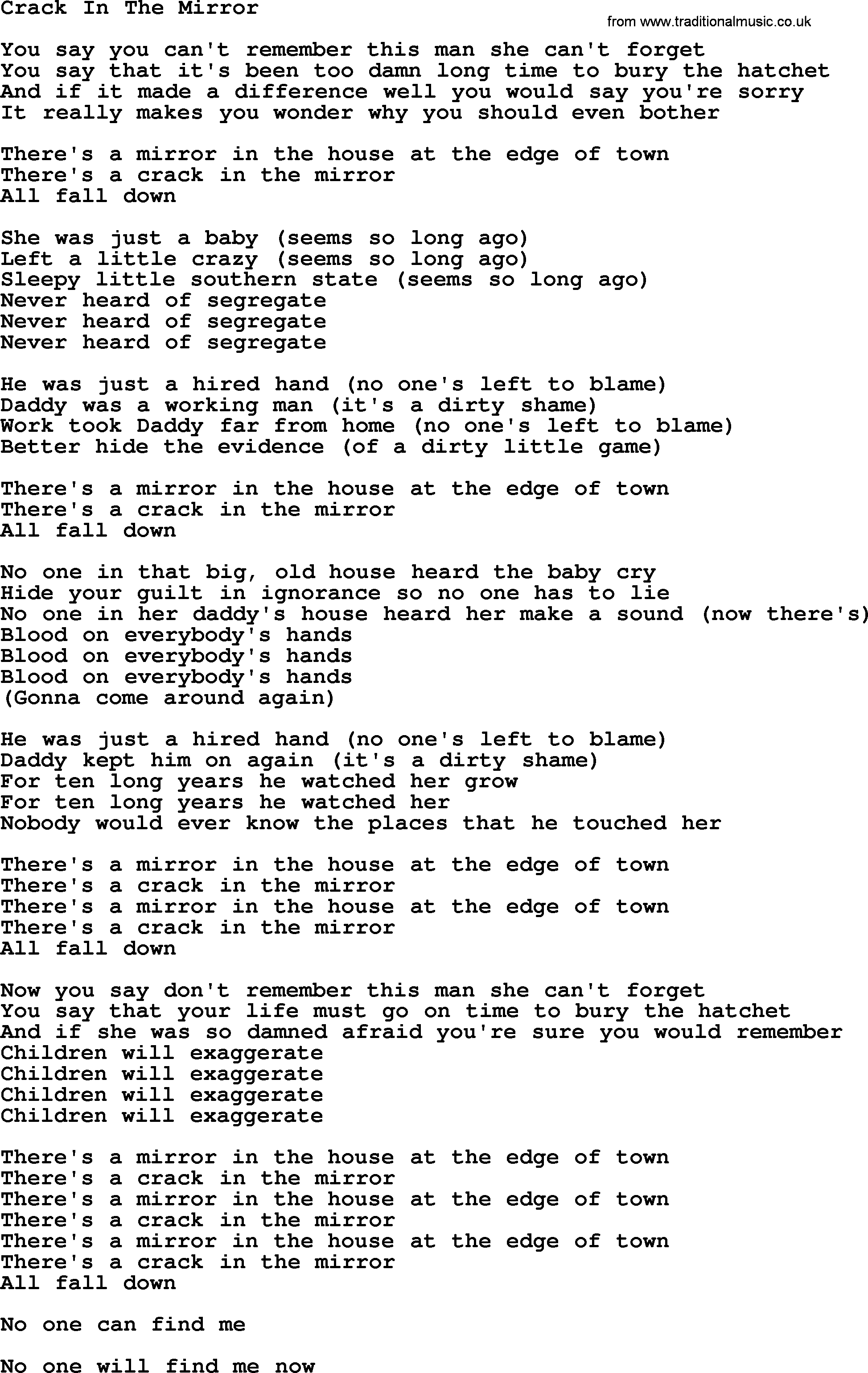mirror lyrics driverlayer search engine