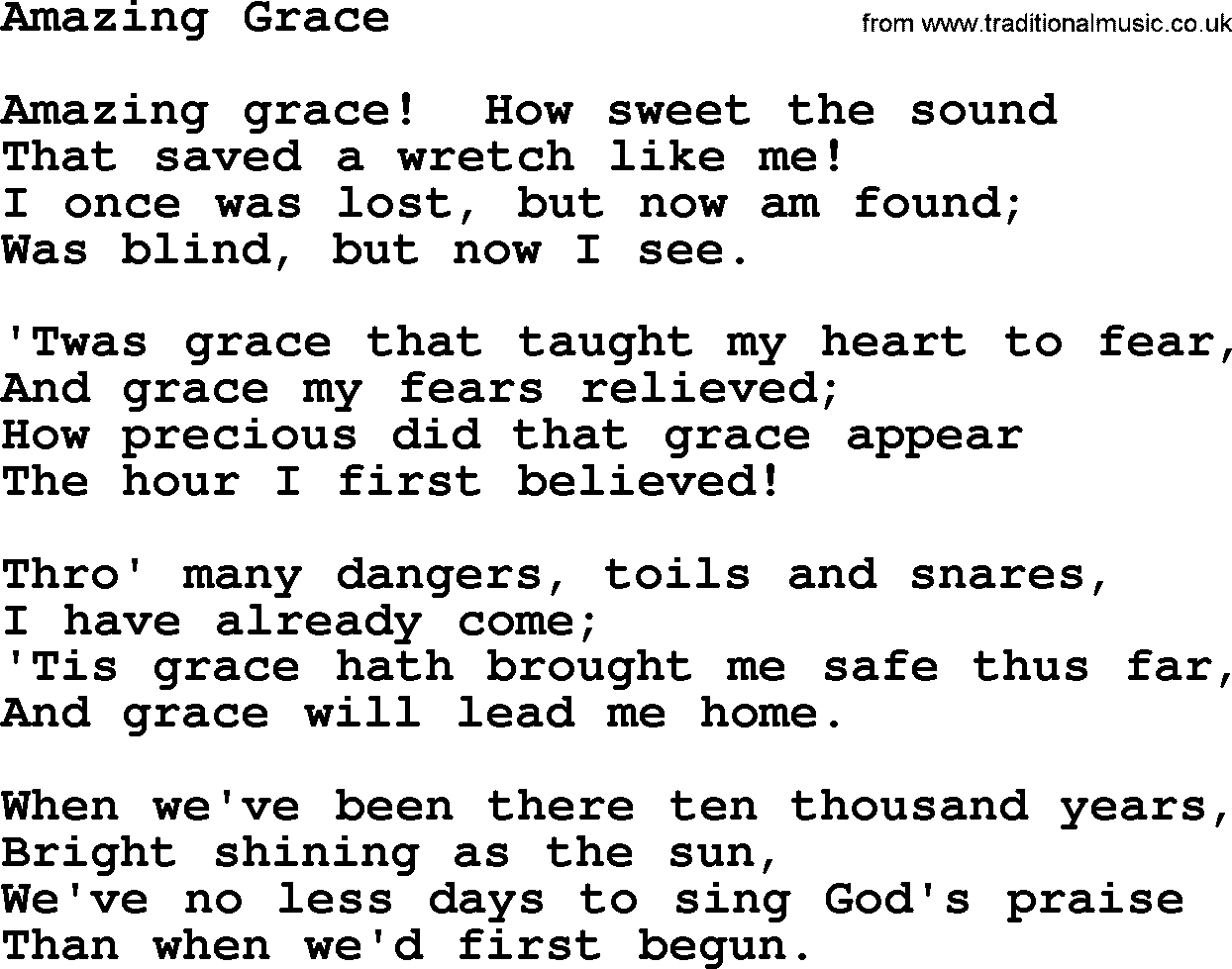 amazing grace poem analysis Frank x walker's collection of poetry, affrilachia amazing grace was, indeed, amazing walker's talent is inspired flag like see review.