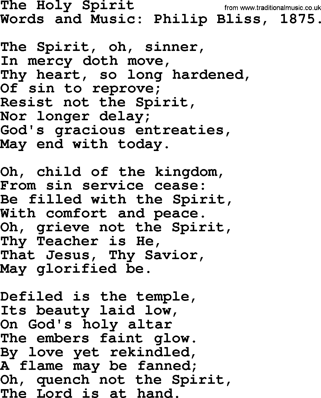 spirit and song book pdf