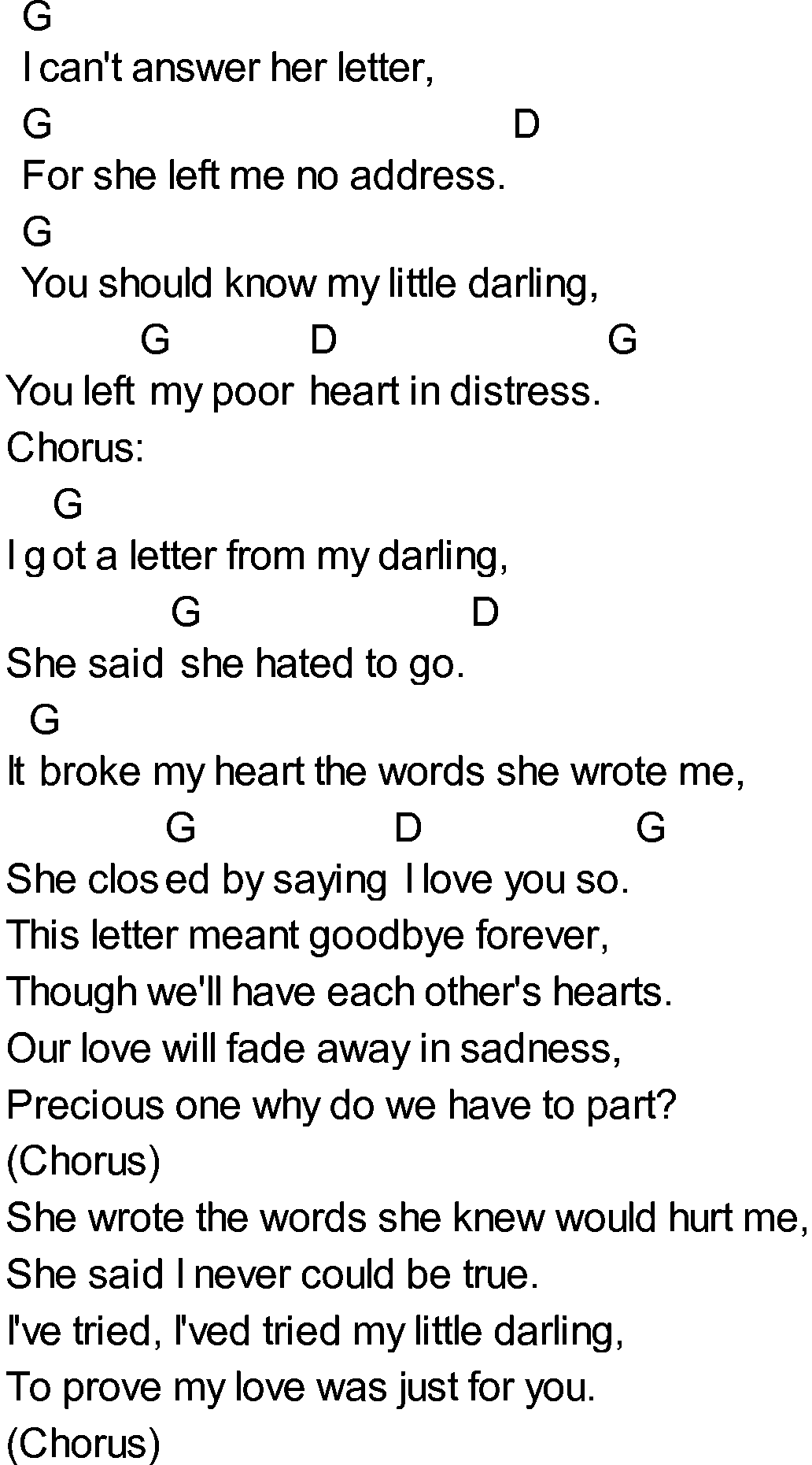Exelent Letter To Me Chords Illustration  Song Chords Images  Apa