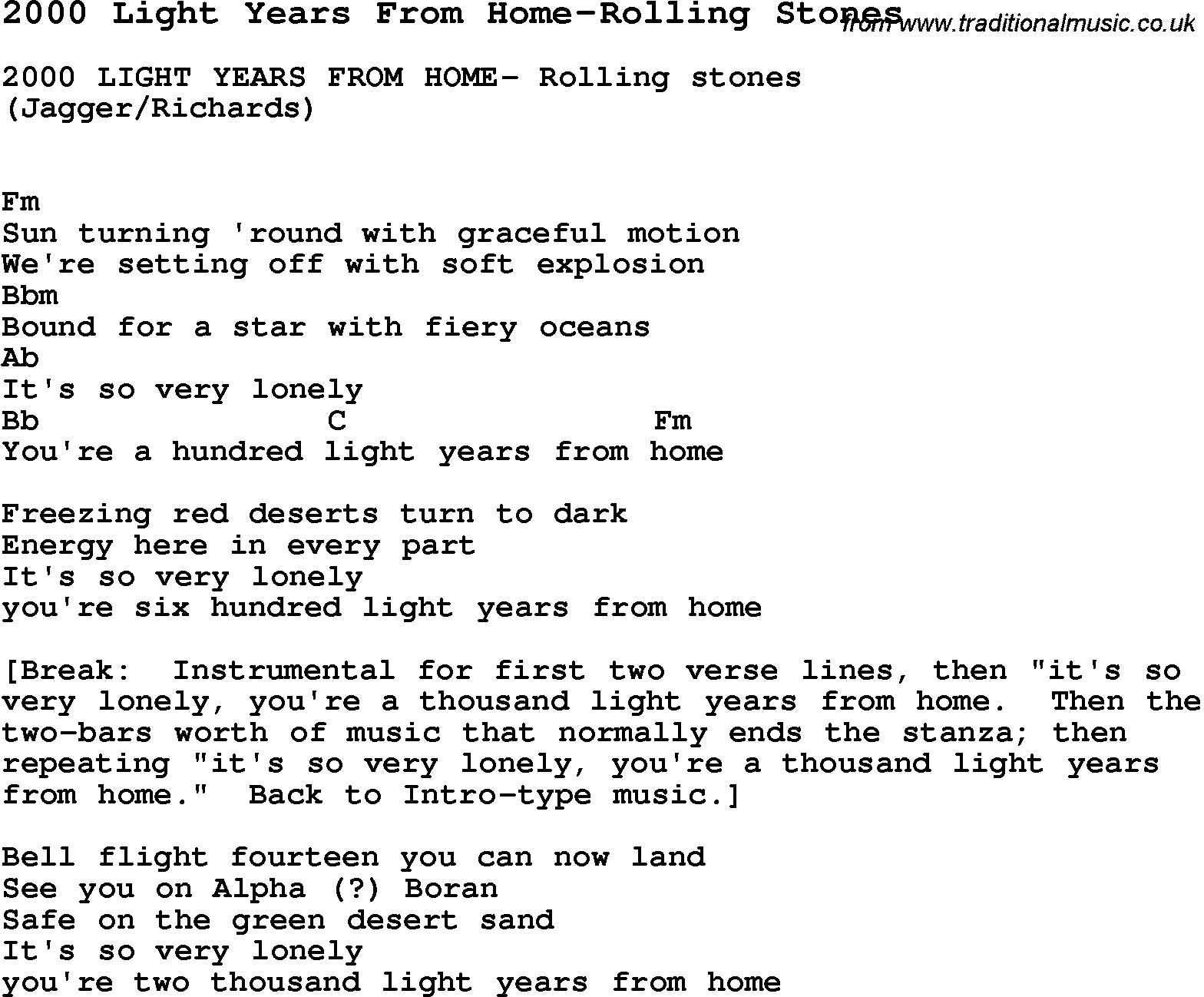 Fantastic Two Thousand Light Years From Home Embellishment - Home ...