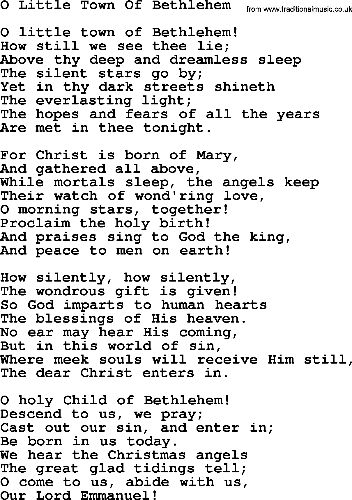 titles of christmas songs