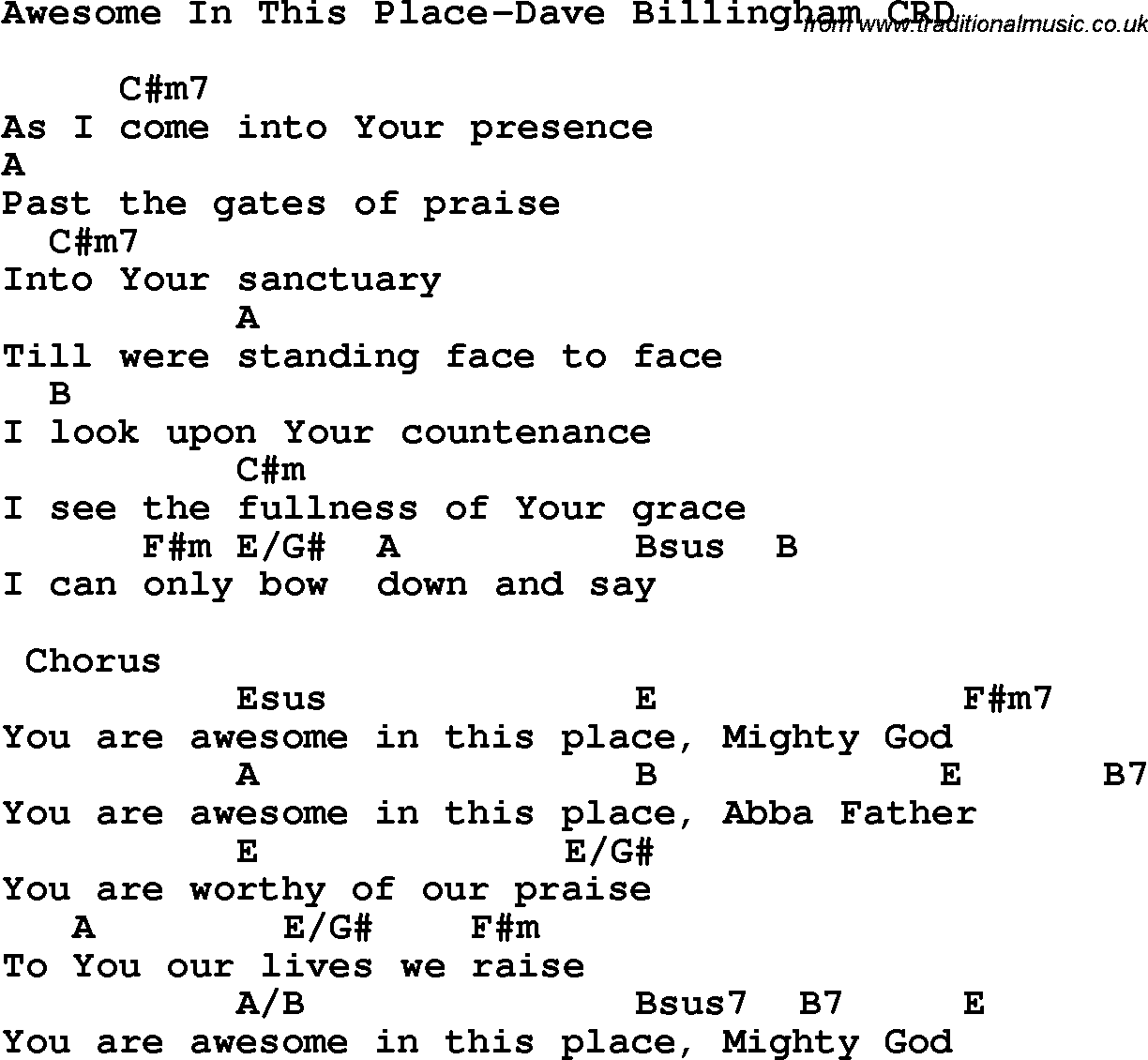 Guitar chords christian songs