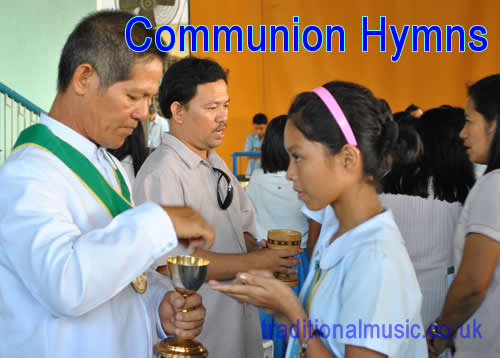 Hymns and Songs for The Eucharist(Communion),140 lyrics with