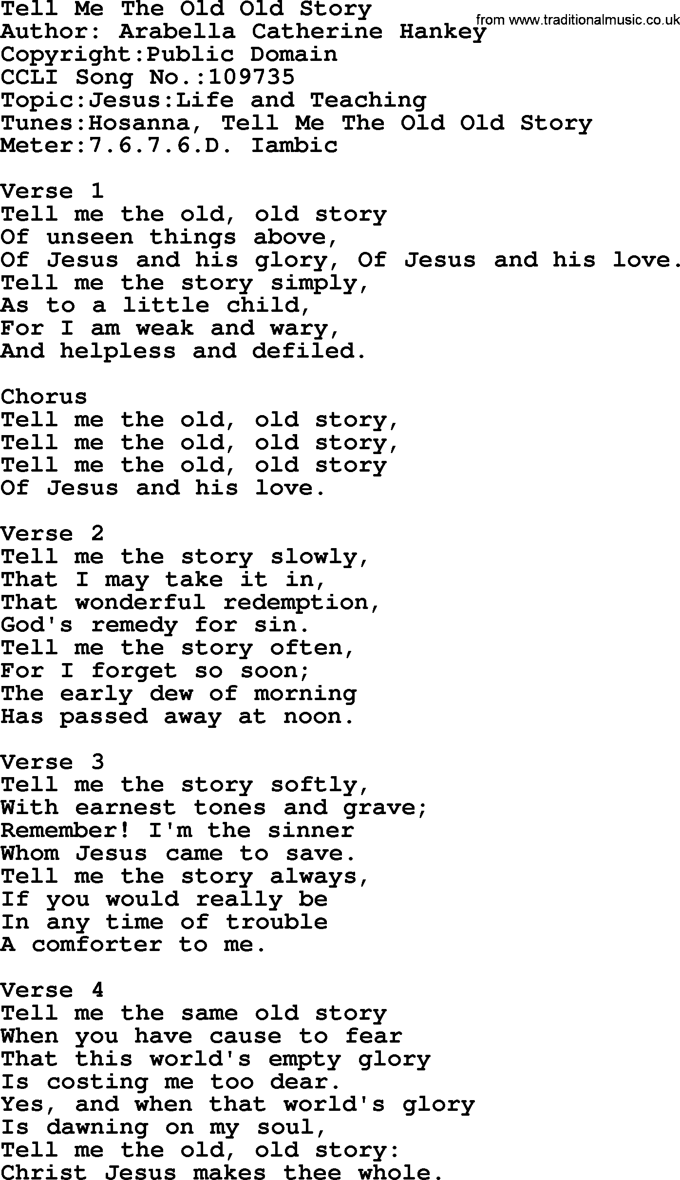 List of most popular christian songs