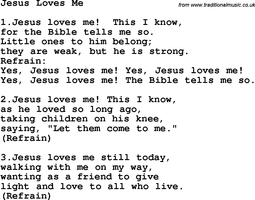 Pics Photos - Jesus Loves Me Lyrics Hillsong