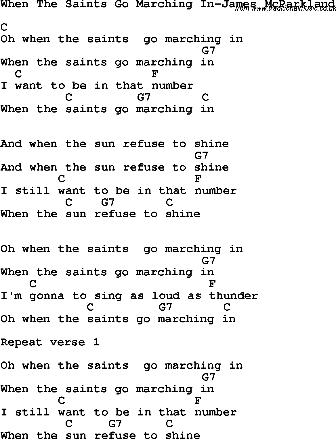 When the saints go marching in lyrics k kub 2018 hexwebz Image collections