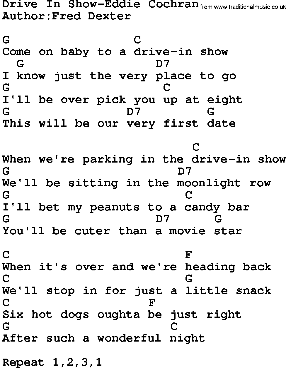 at drive in lyrics hourglass