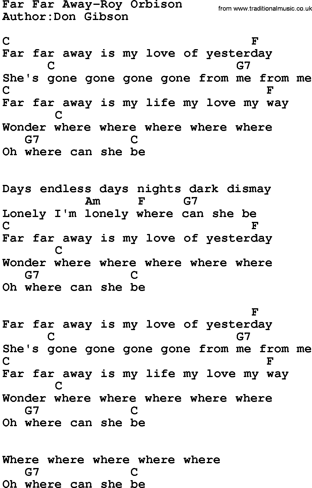 Now that we re here so far away lyrics