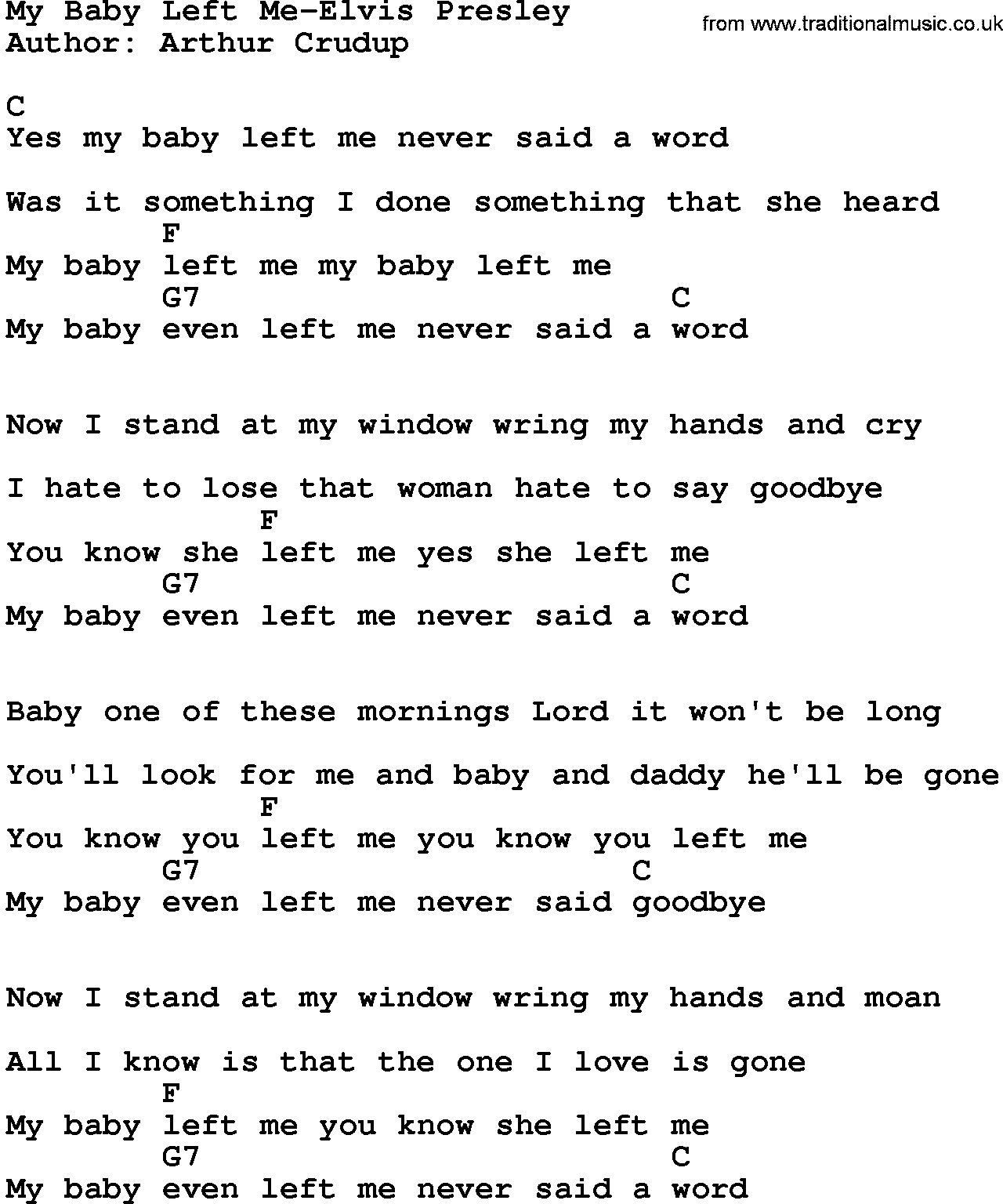What left of me lyrics