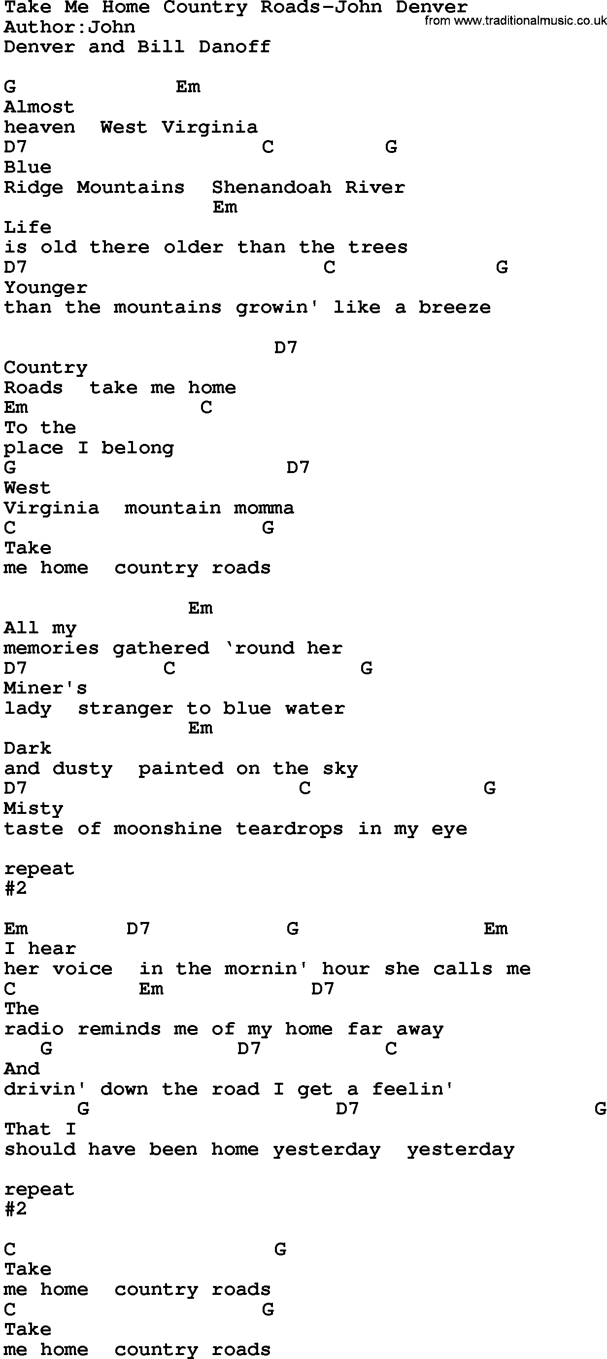 country lyrics about home