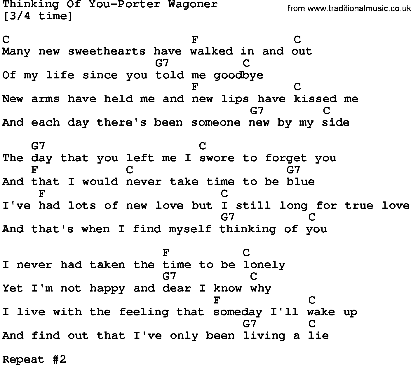 thinking of you and me lyrics