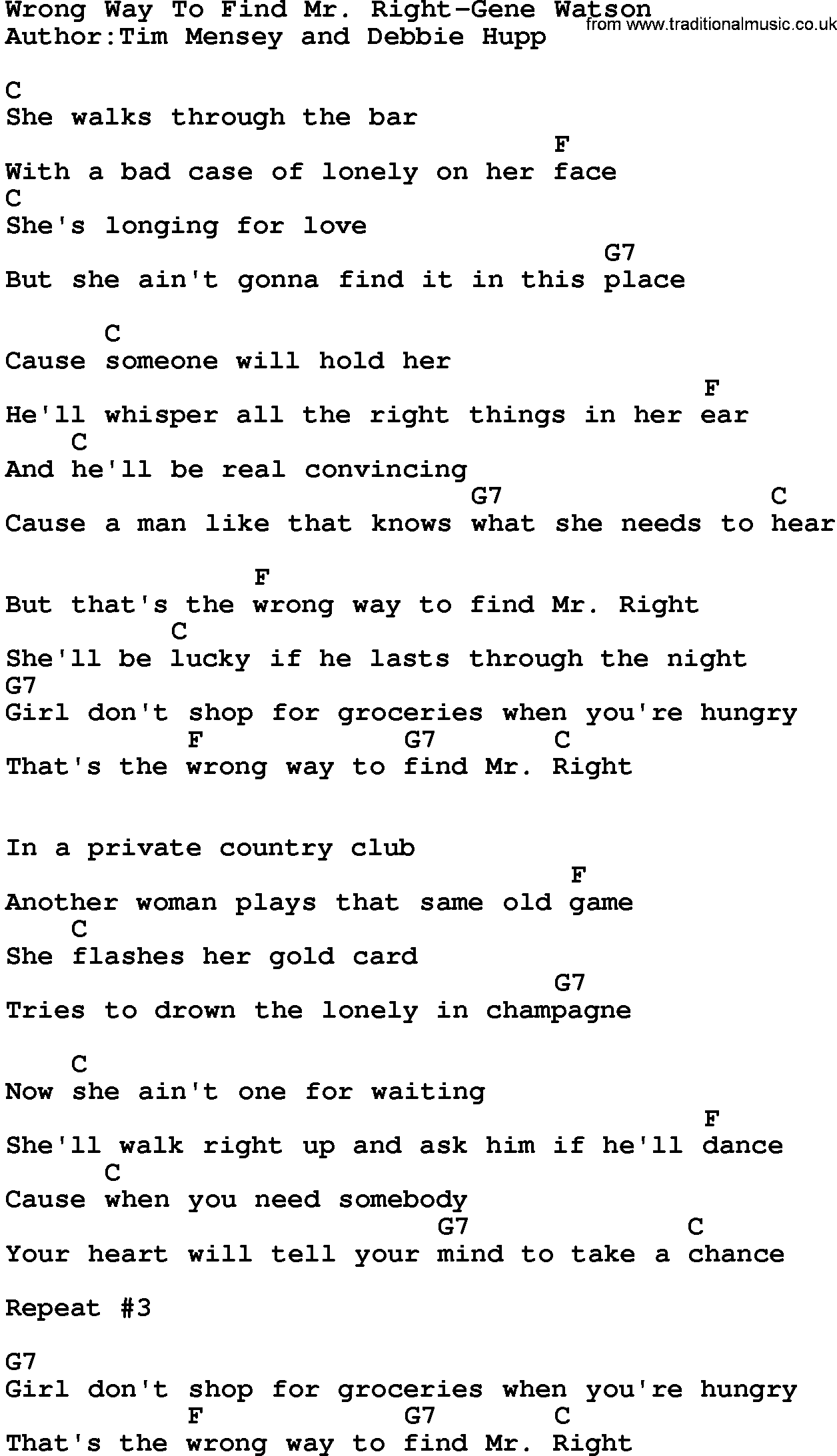 Which way is right wrong lyrics