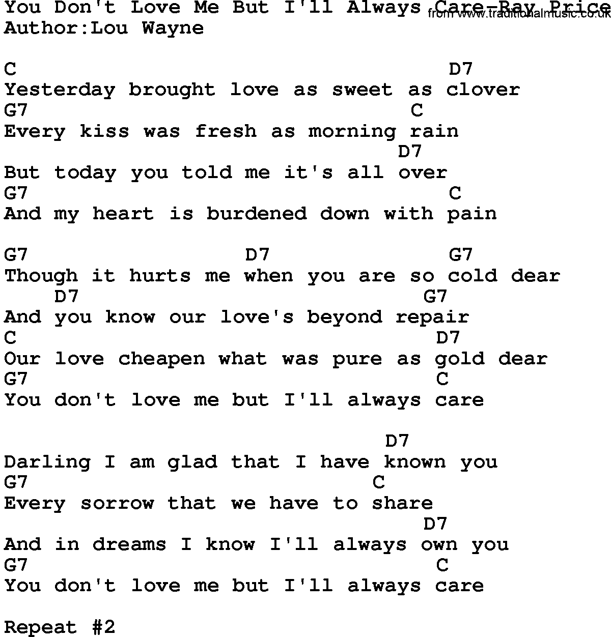 care for you lyrics