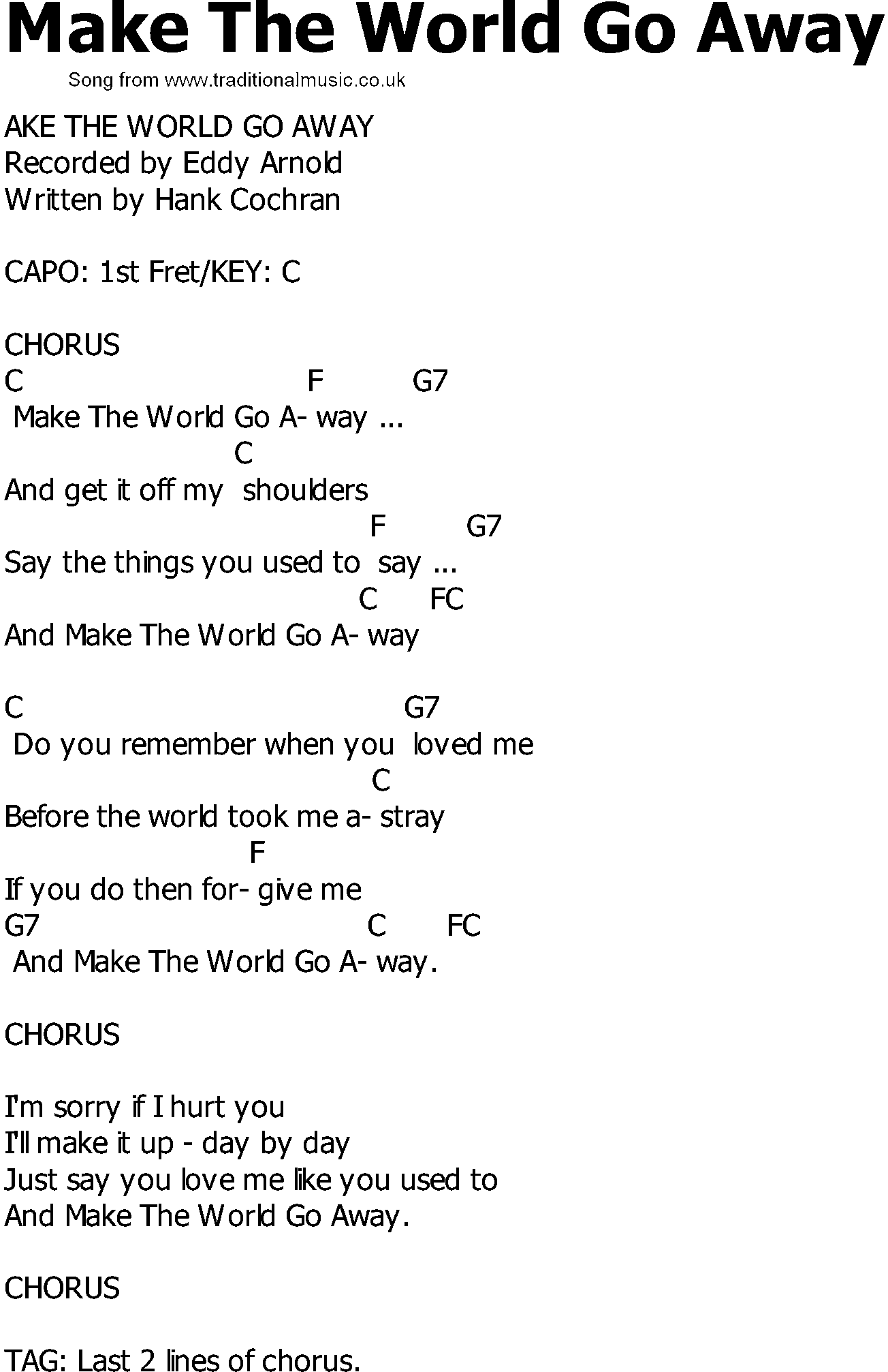 Old and in the way chords lyrics