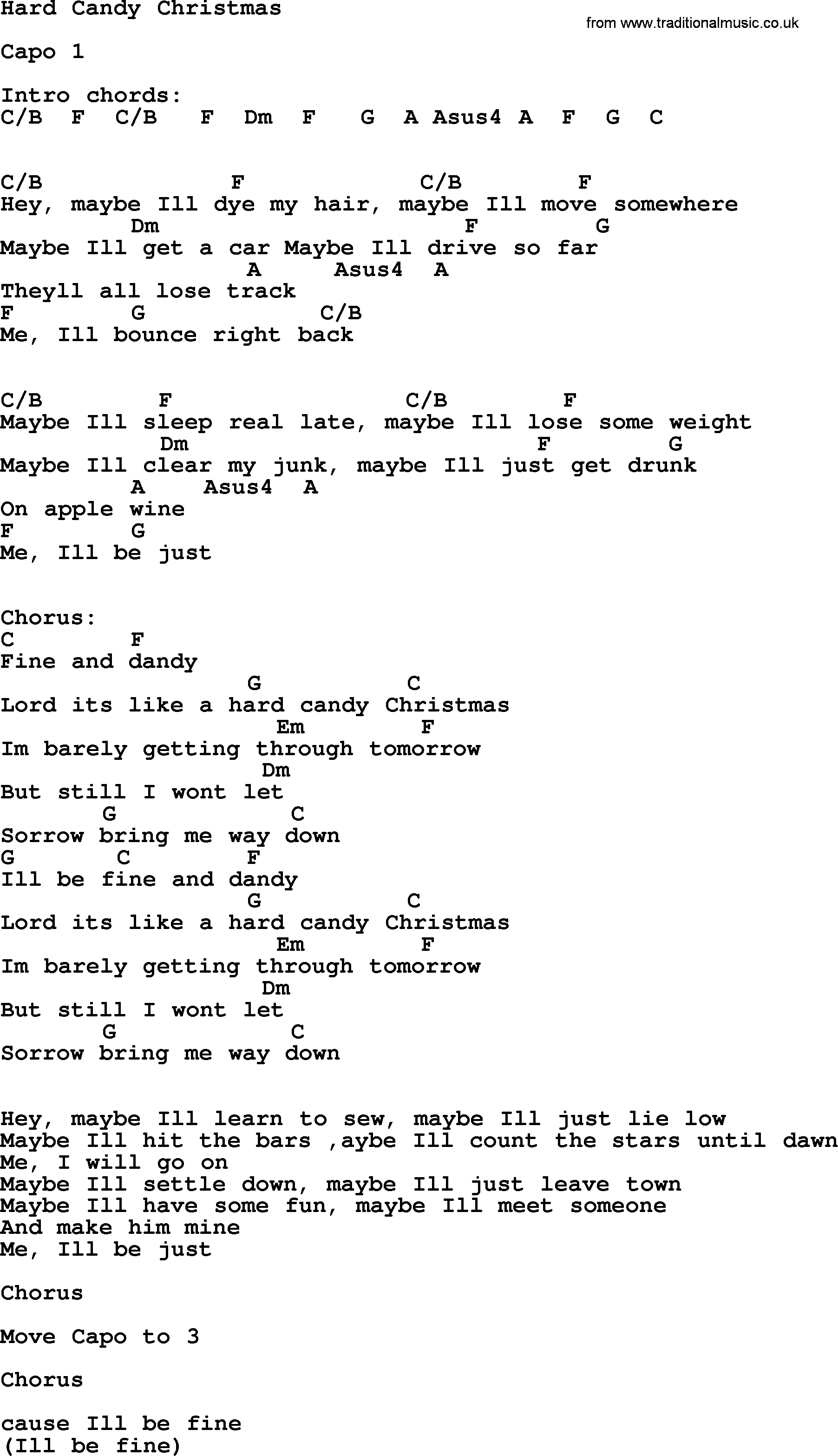 Ill Be Home For Christmas Chords.Dolly Parton Song Hard Candy Christmas Lyrics And Chords
