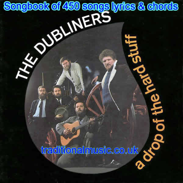 Songs By The Dubliners - Titles index page