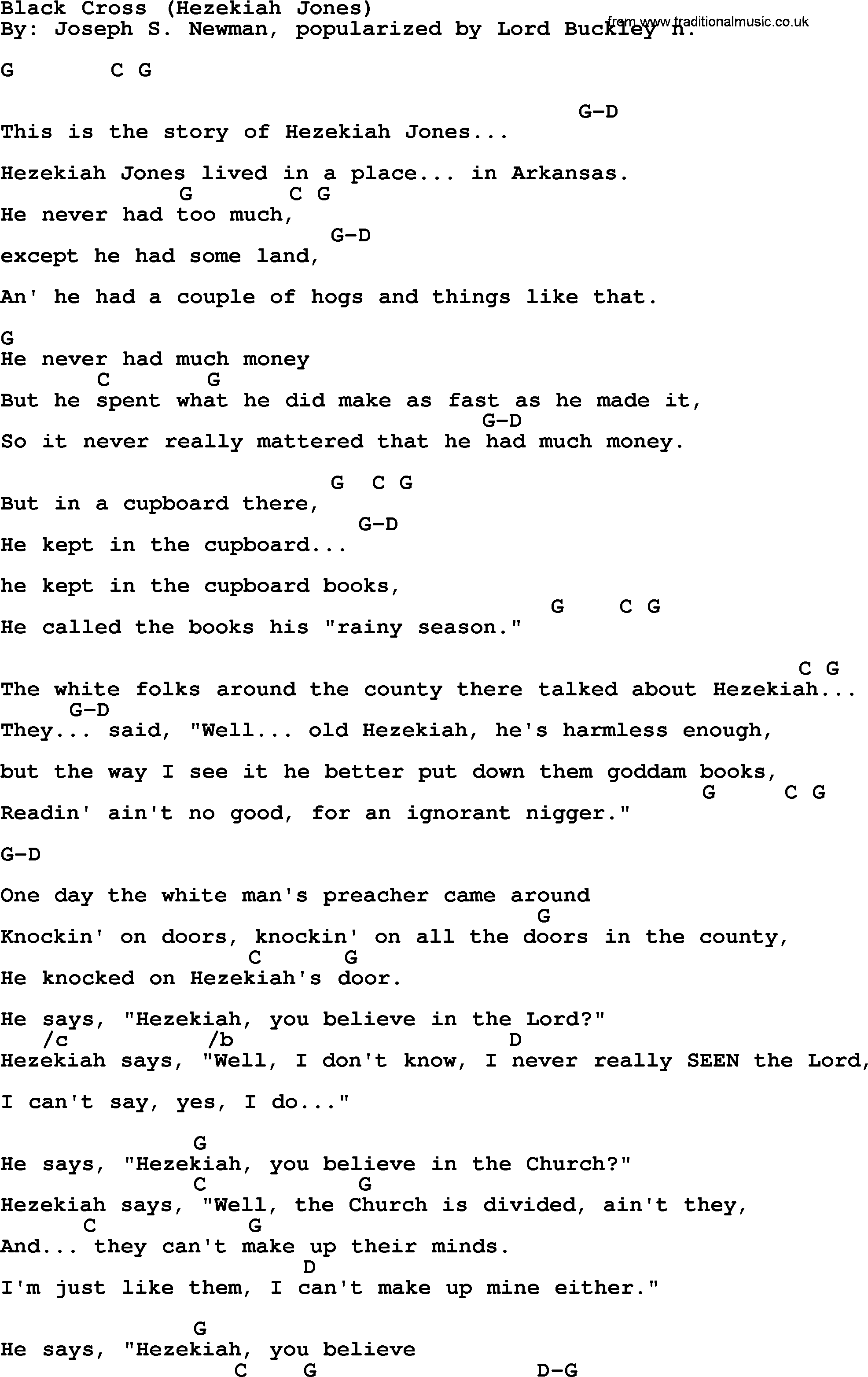 Black Bobby – Black Bob Lyrics | Genius Lyrics