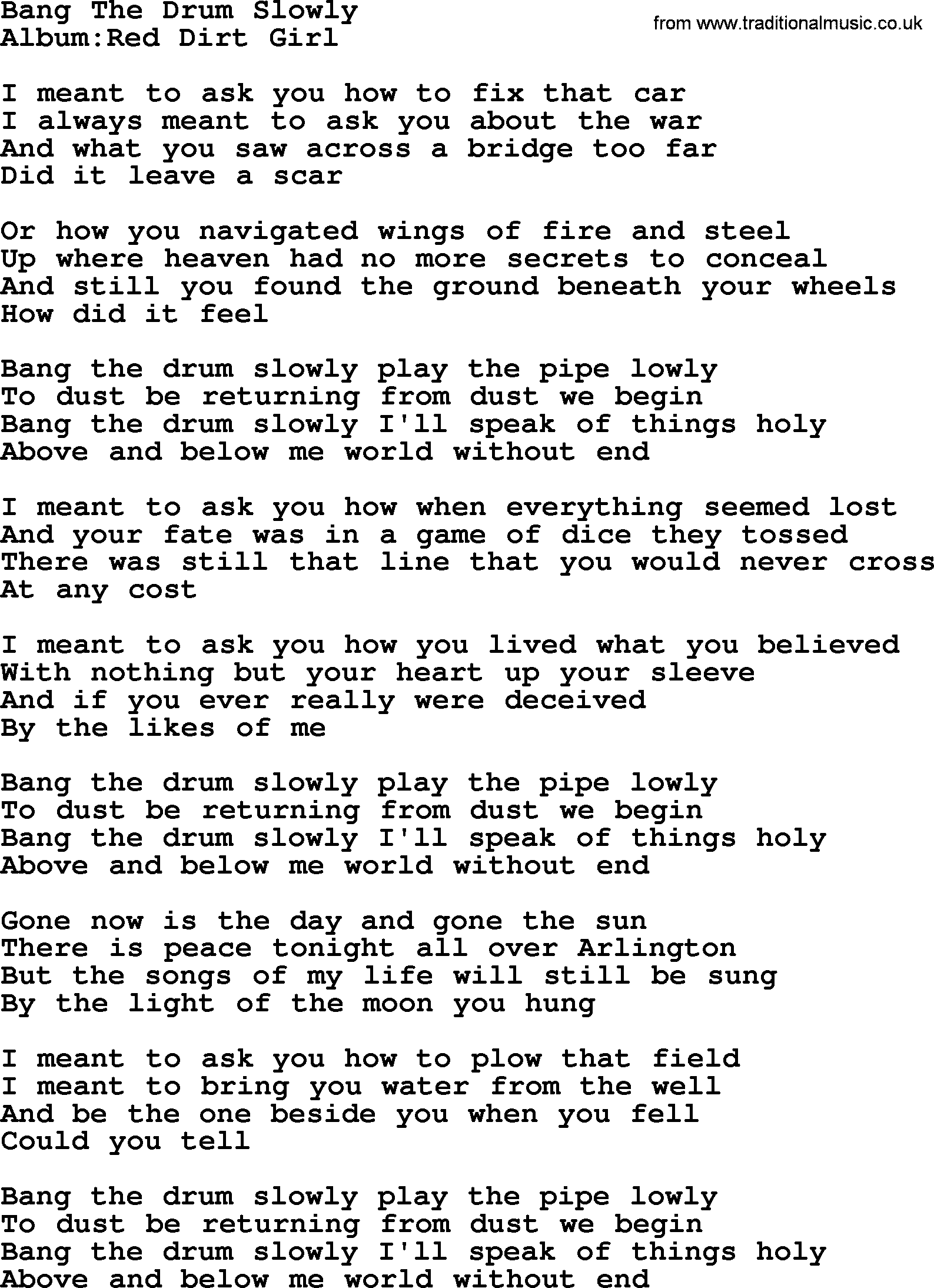 Bang it lyrics
