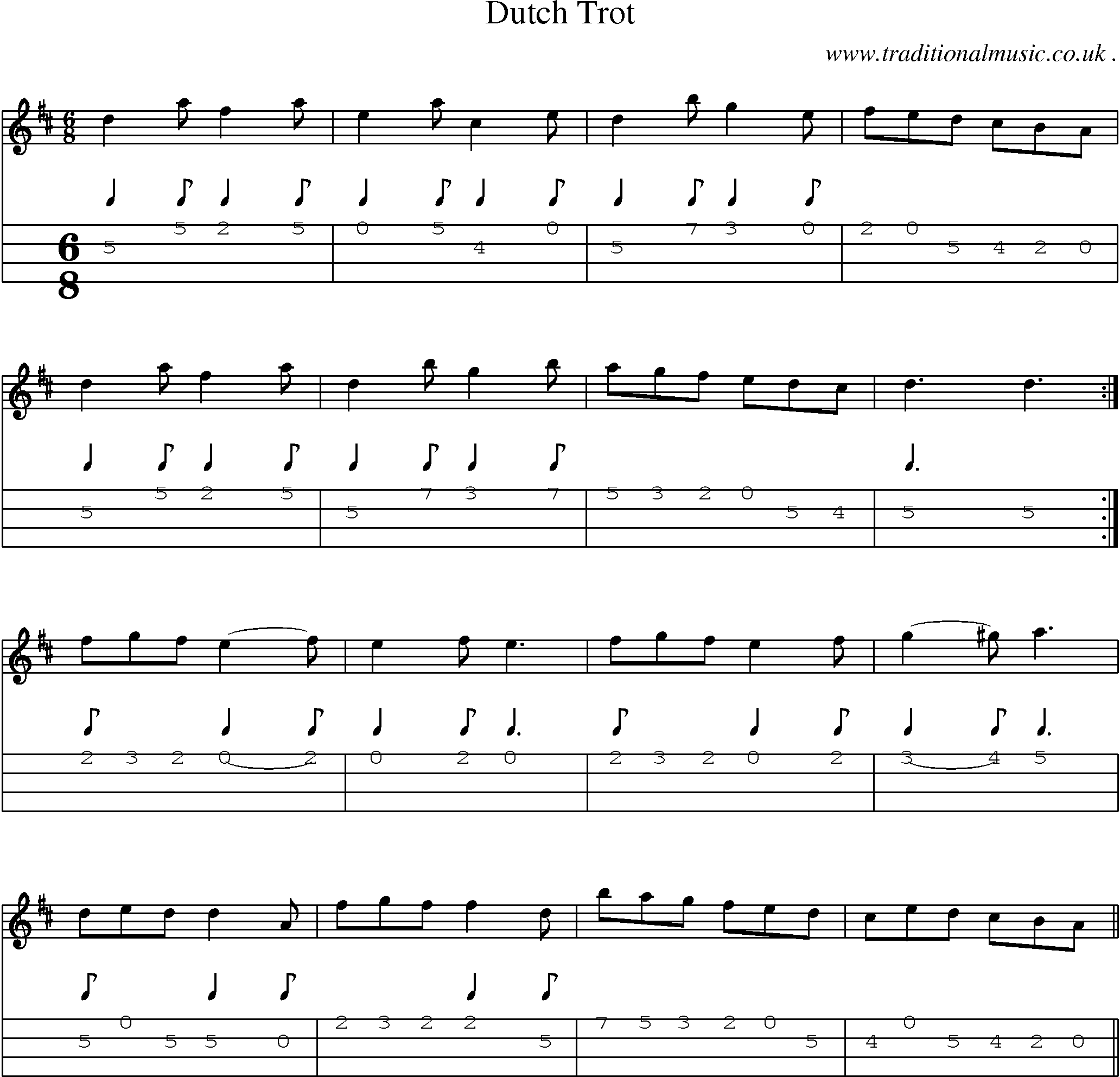 Folk and Traditional Music, Sheet-Music, Mandolin tab, midi