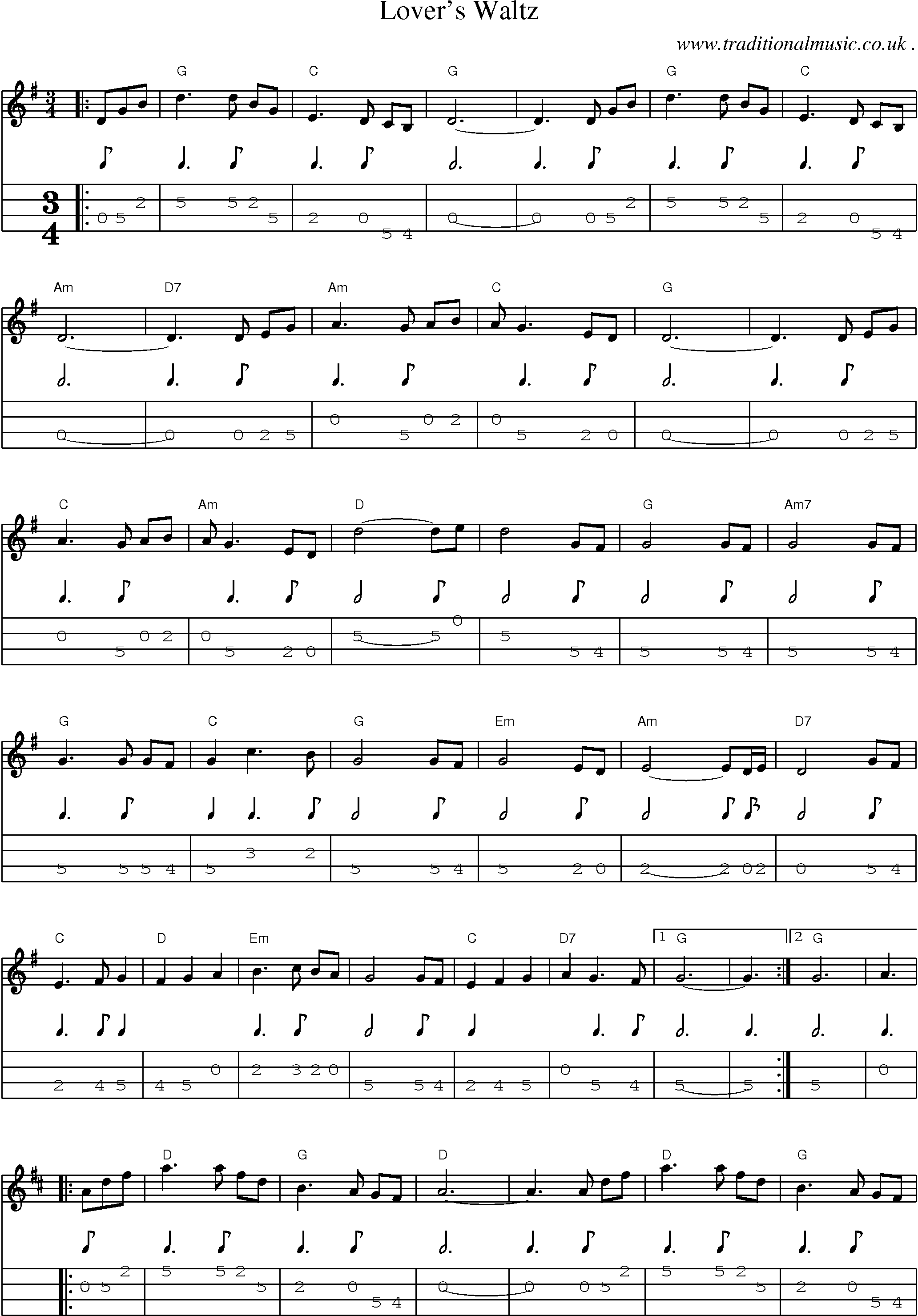 how to read piano tab music