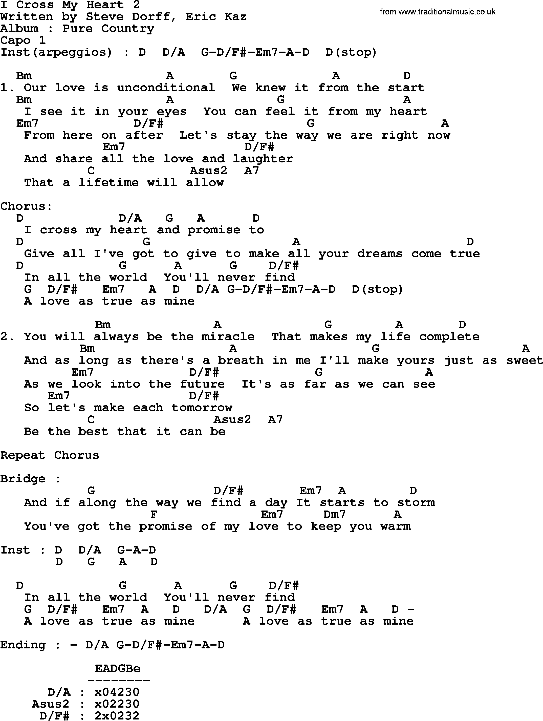 I cross my heart 2 by george strait lyrics and chords george strait song i cross my heart 2 lyrics and chords hexwebz Image collections