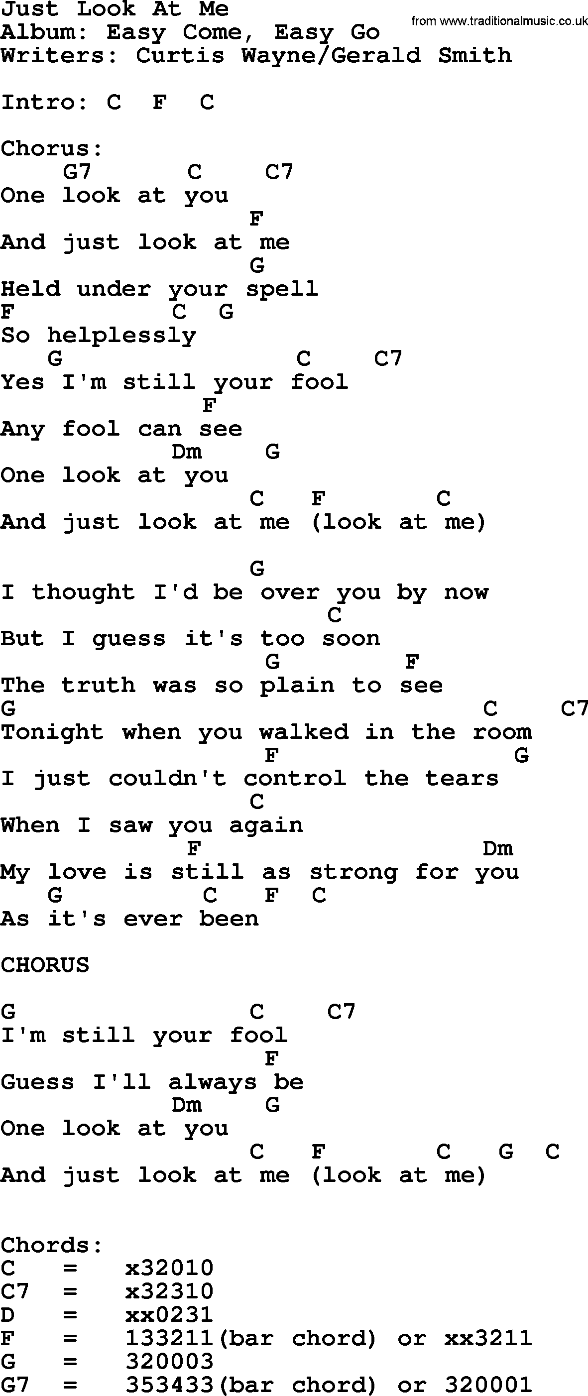 Just look at me by george strait lyrics and chords george strait song just look at me lyrics and chords hexwebz Images