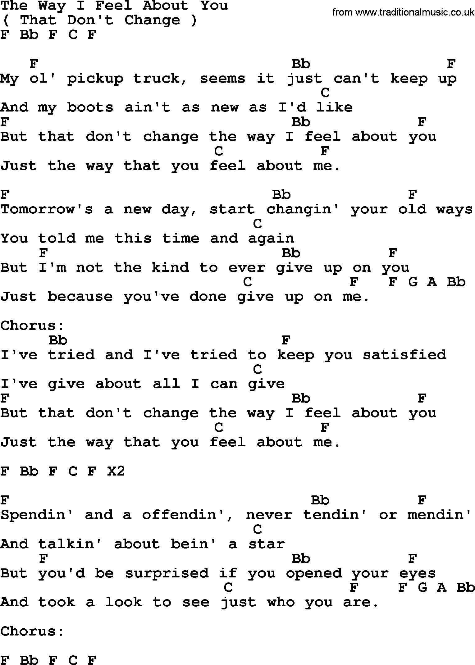The way i feel about you by george strait lyrics and chords george strait song the way i feel about you lyrics and chords hexwebz Image collections