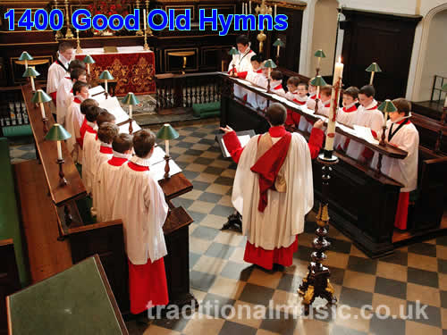 Good Old Christian Hymns - 1400+ core hymns from ecumenical