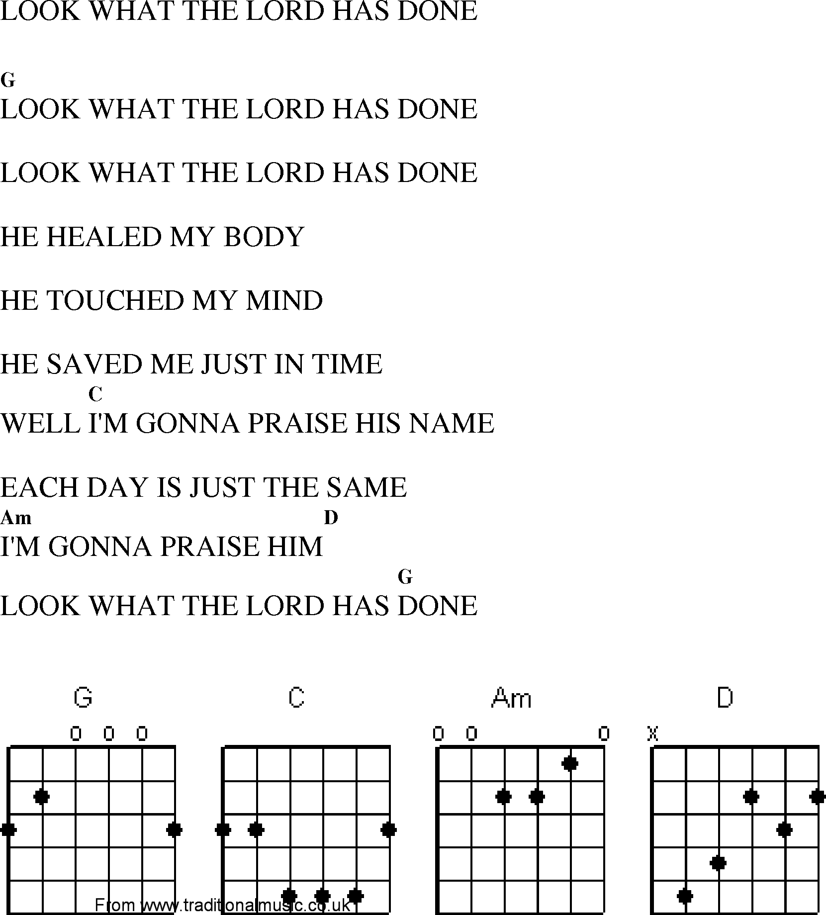 He Touched Me Guitar Chords Gallery Basic Guitar Chords Finger