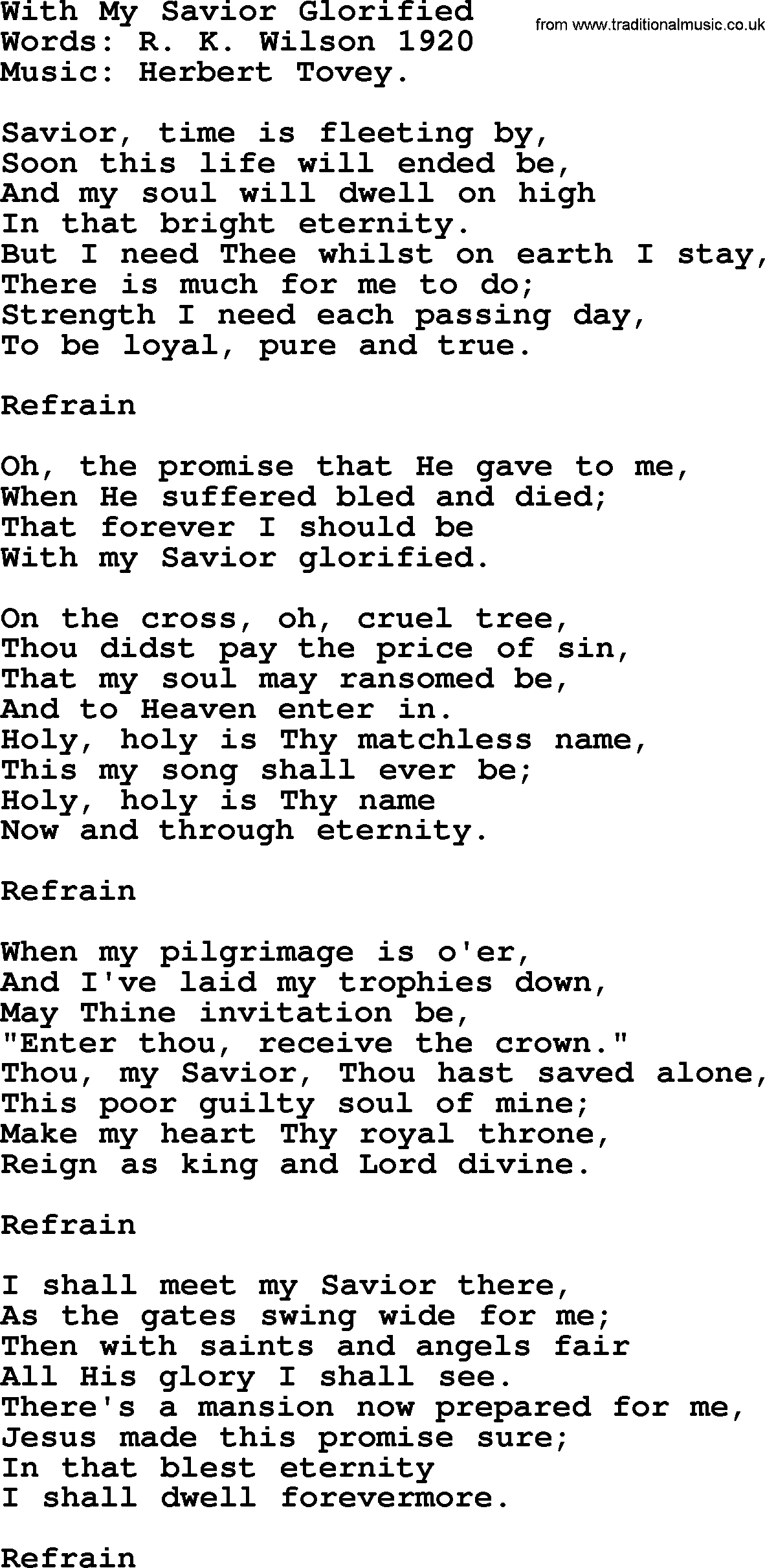 Hymns and songs about heaven with my savior glorified lyrics and pdf songs and hymns about heaven with my savior glorified lyrics with pdf stopboris Images