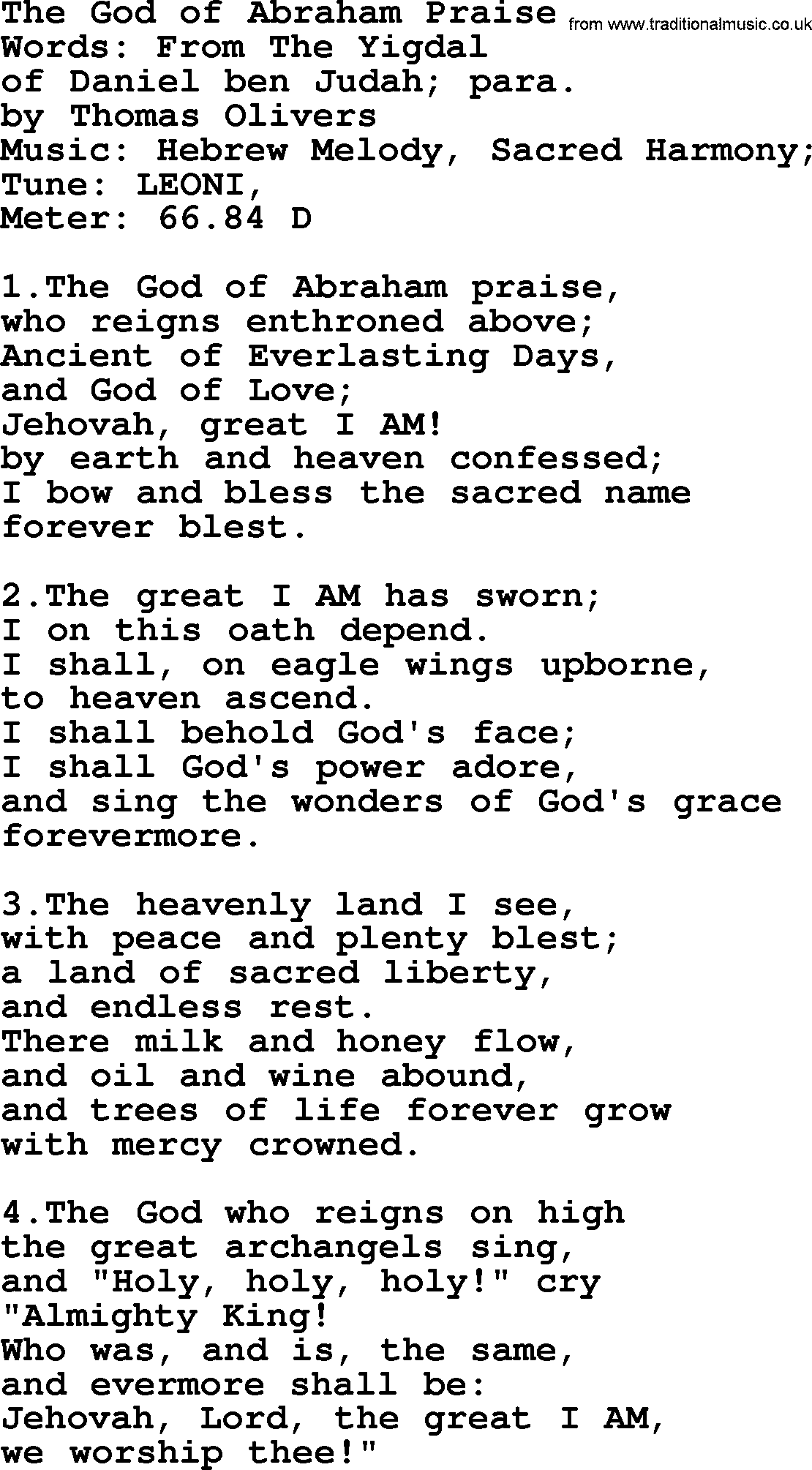 Pdf jehovah sing to