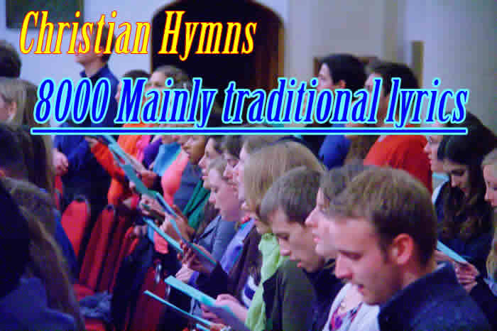 Hymn and Gospel Song Lyrics collection 8000+ songs, start page