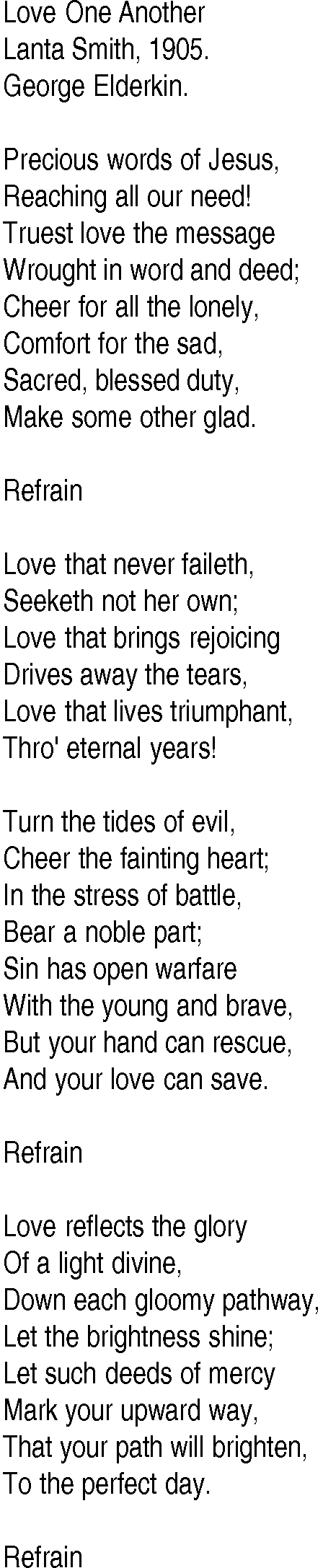 Images Of Love One Another Hymn