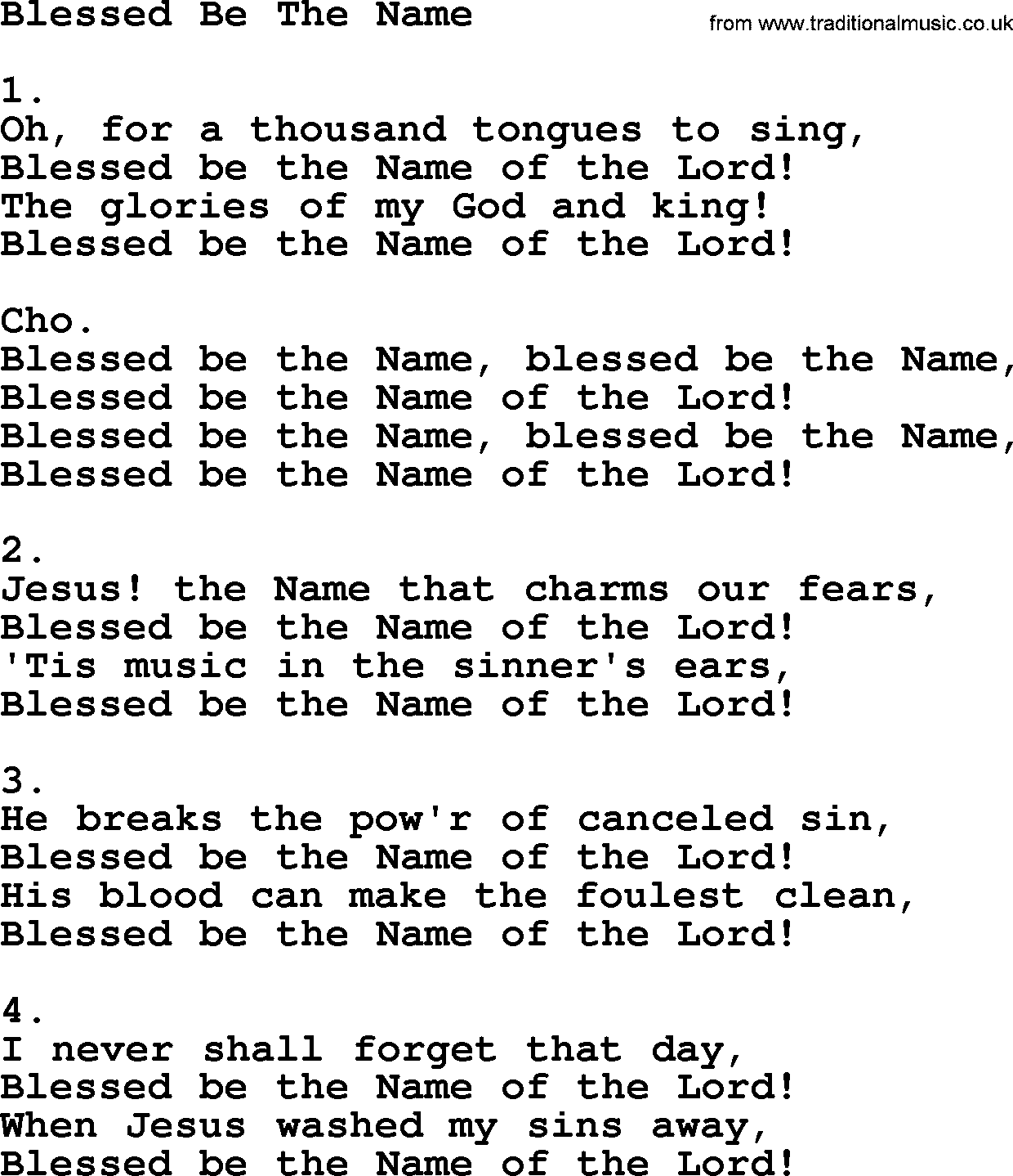Blessed Assurance - Lyrics, Hymn Meaning and Story