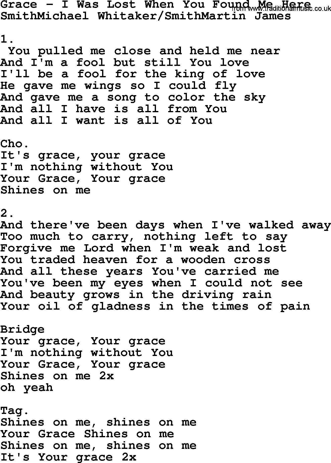 Lost with you lyrics