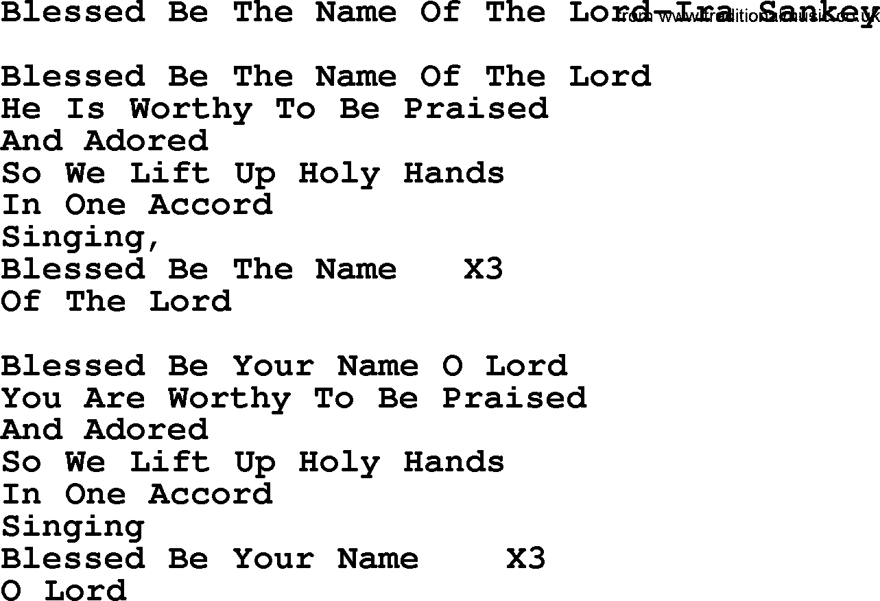 Hymn Lyrics Search at Name That Hymn