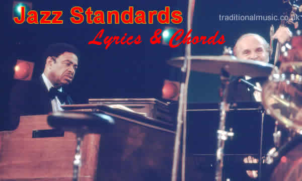 Jazz Song Standards Collection 390 Songs With Chords Tabs Lyrics