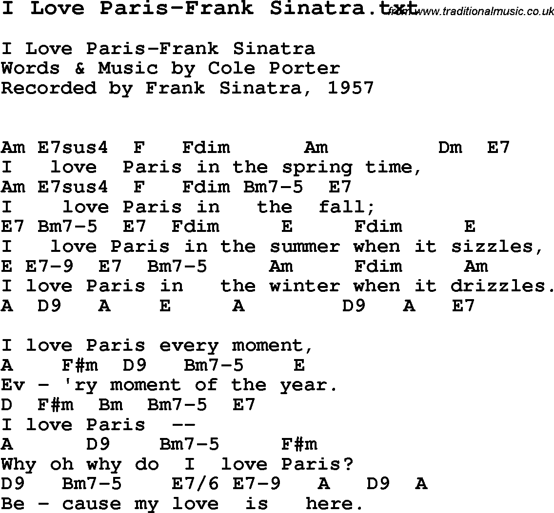 Jazz songs about love