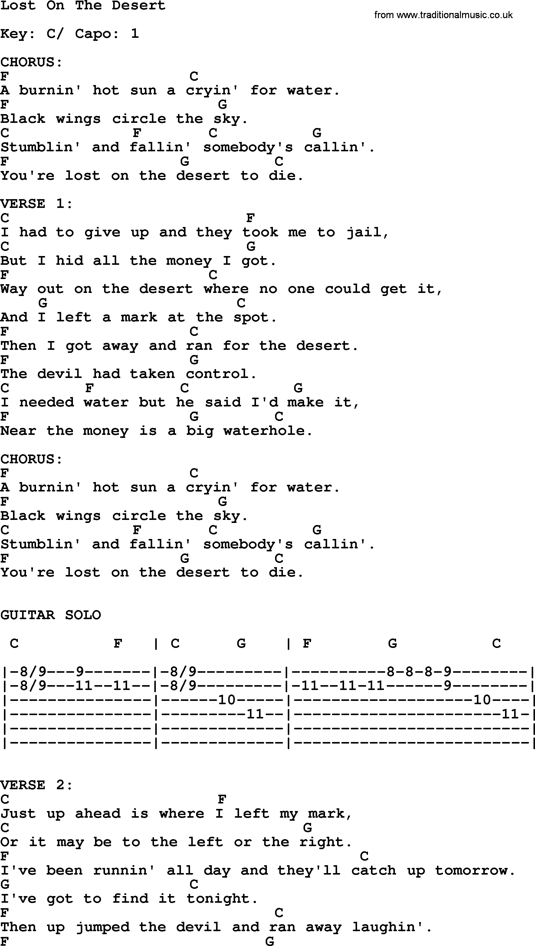 Johnny cash song lost on the desert lyrics and chords johnny cash song lost on the desert lyrics and chords hexwebz Image collections