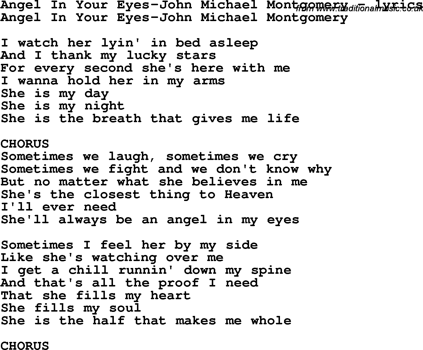 Love is in your eyes lyrics