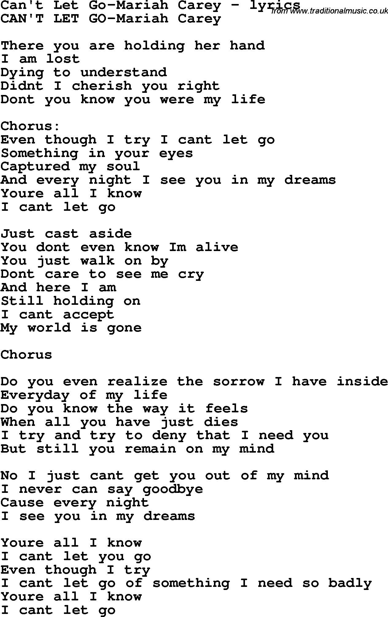 Lyrics to holding her and loving you