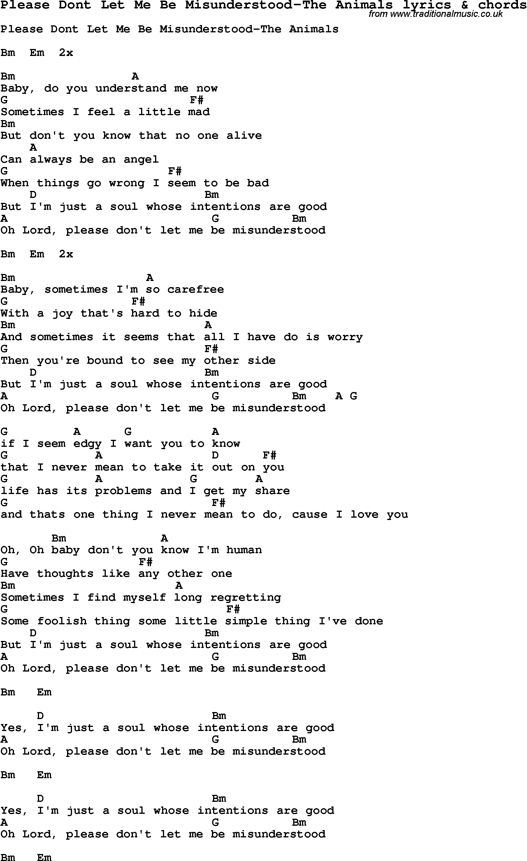 Love Song Lyrics with Chords for  Traditional Music Library