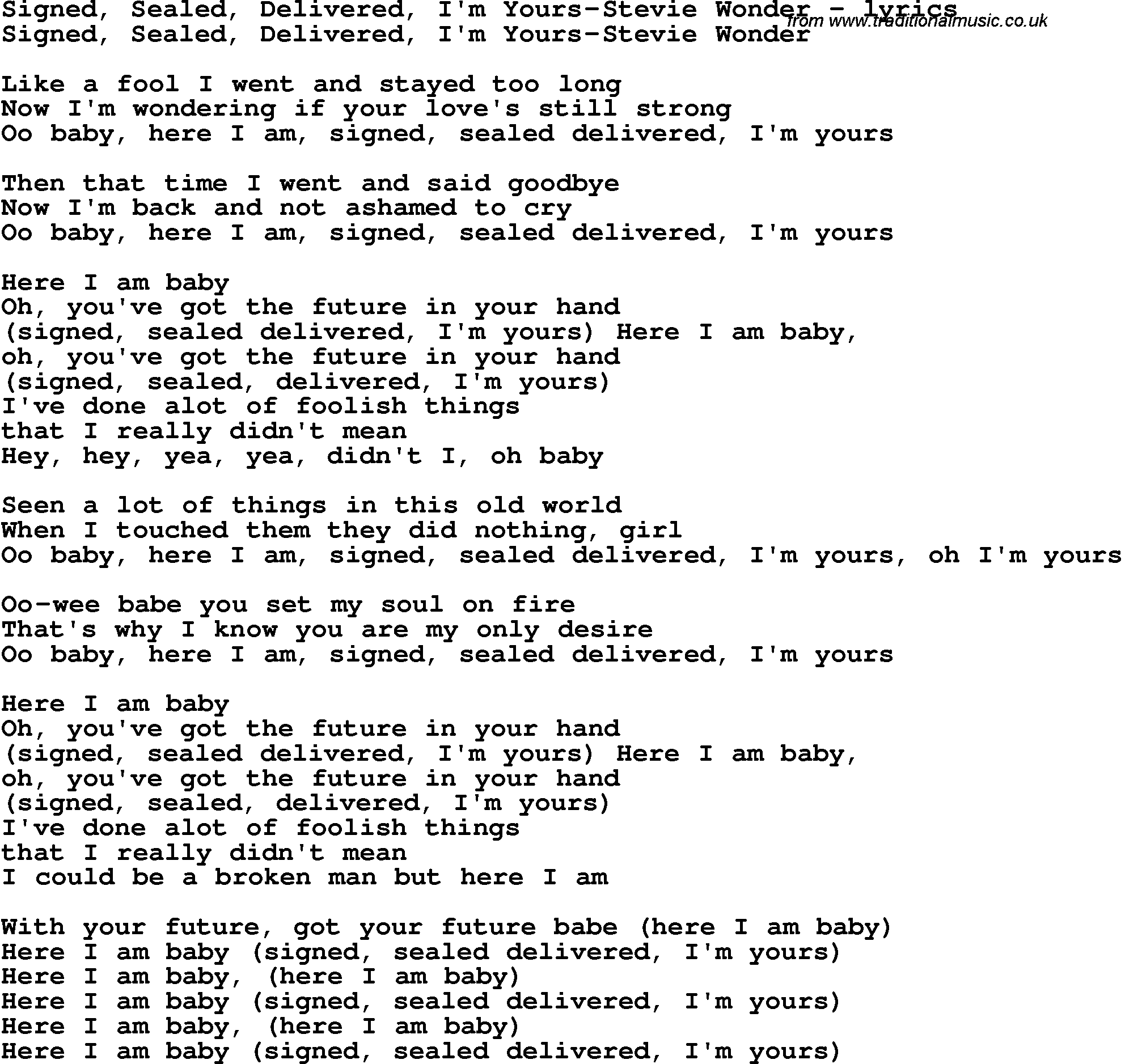im yours lyrics and chords