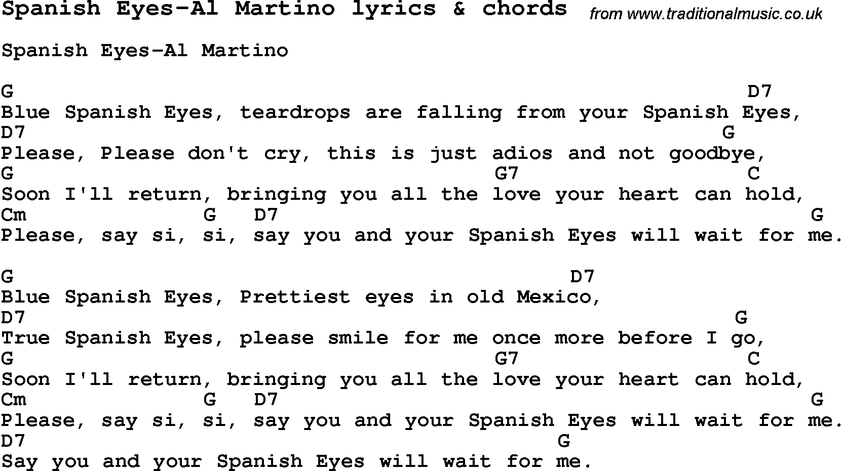 on and off relationship songs in spanish