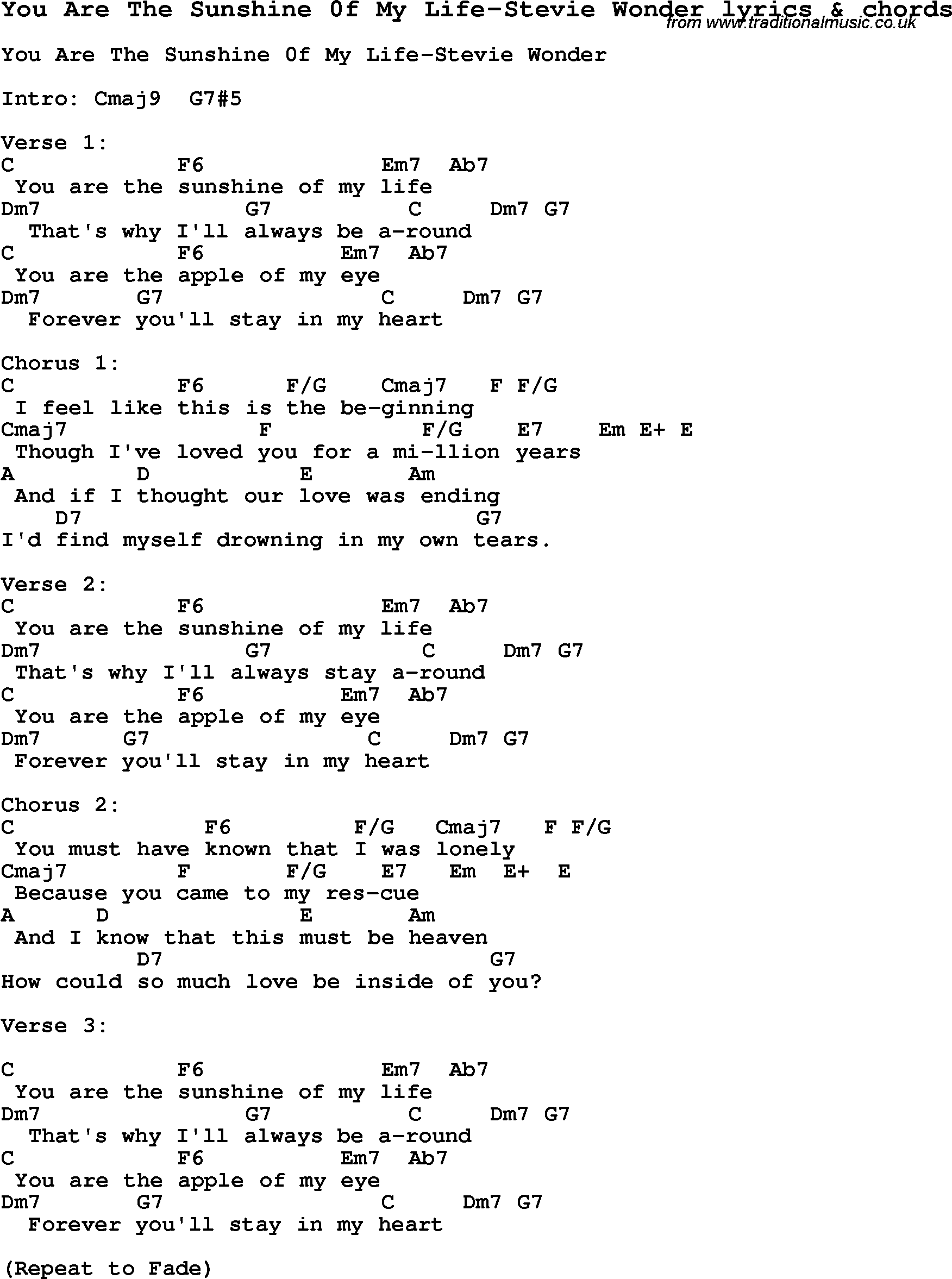 Love song for myself lyrics