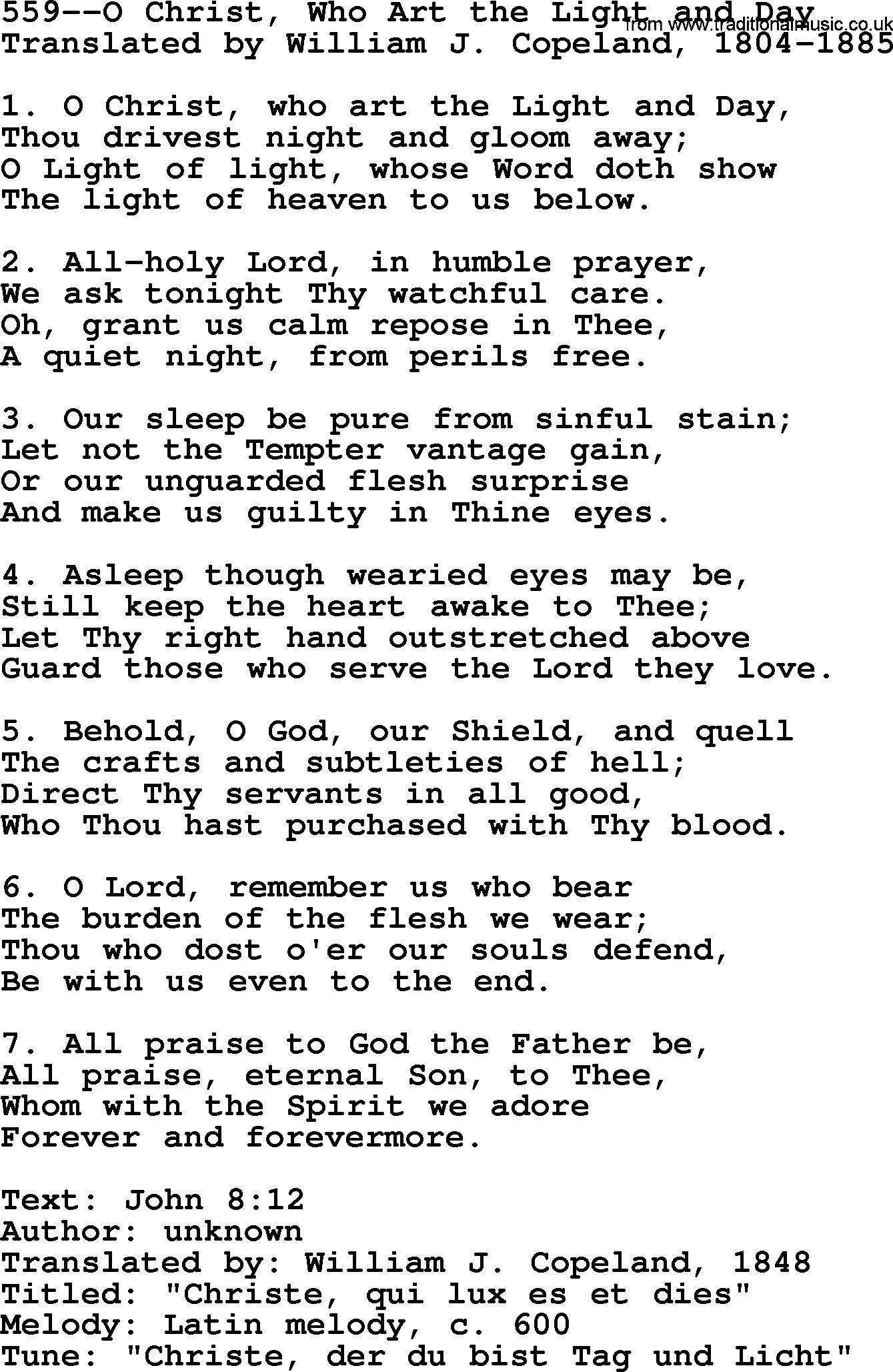 christ be our light lyrics pdf
