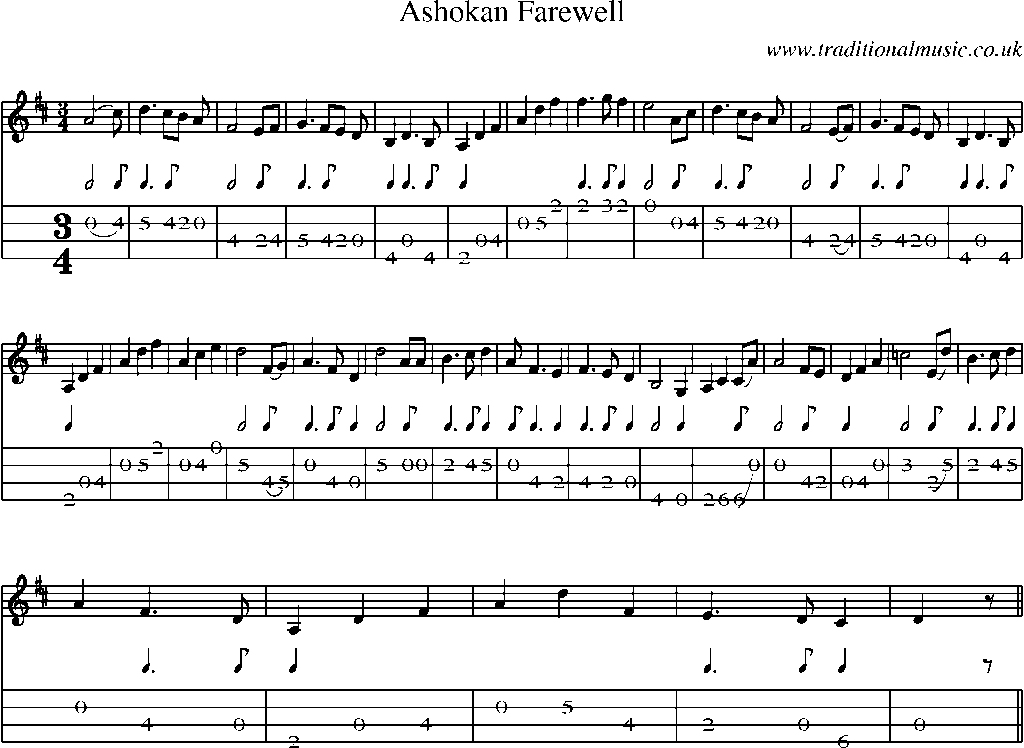 Ashokan Farewell Song submited images.